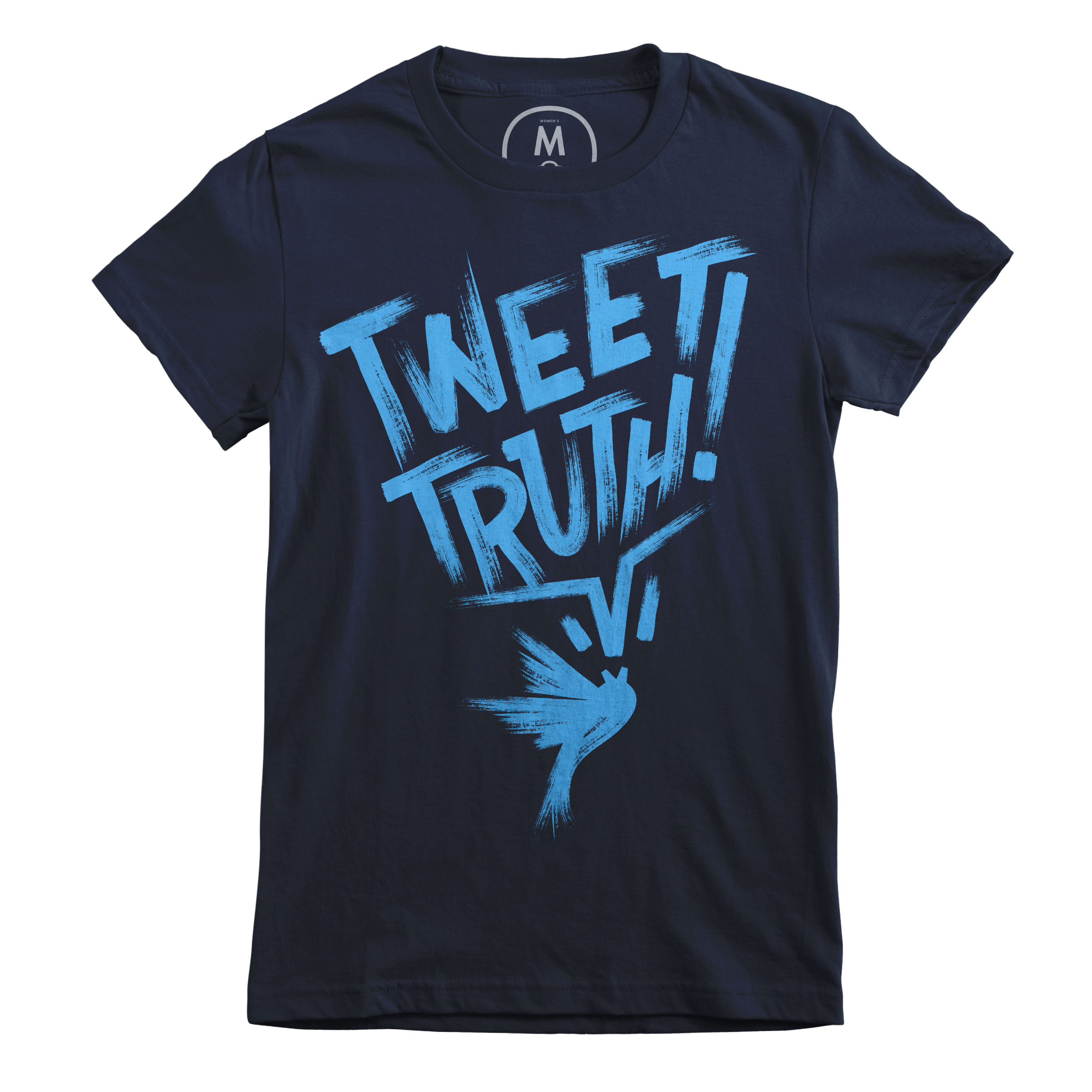 Tweet Truth! Midnight Navy (Women's)