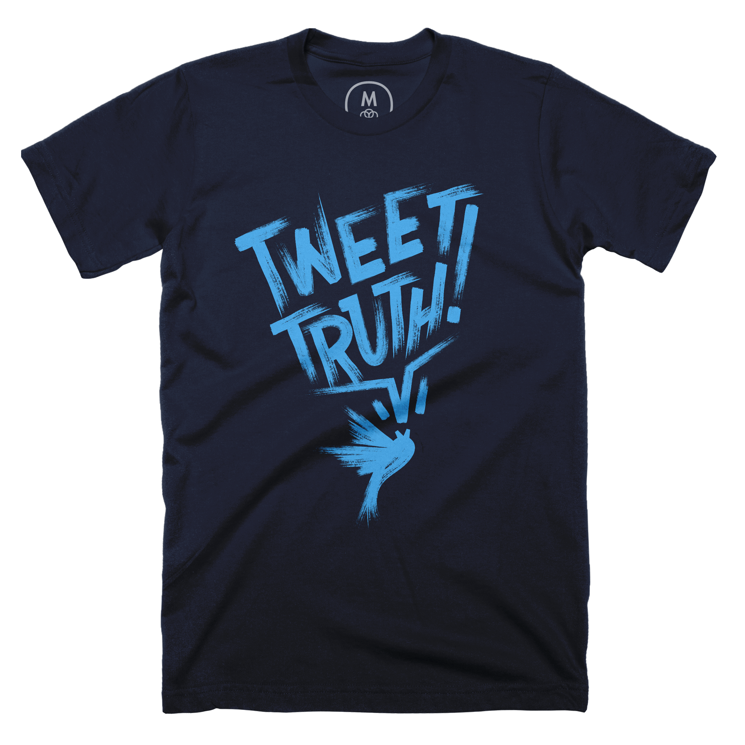 Tweet Truth! Midnight Navy (Men's)