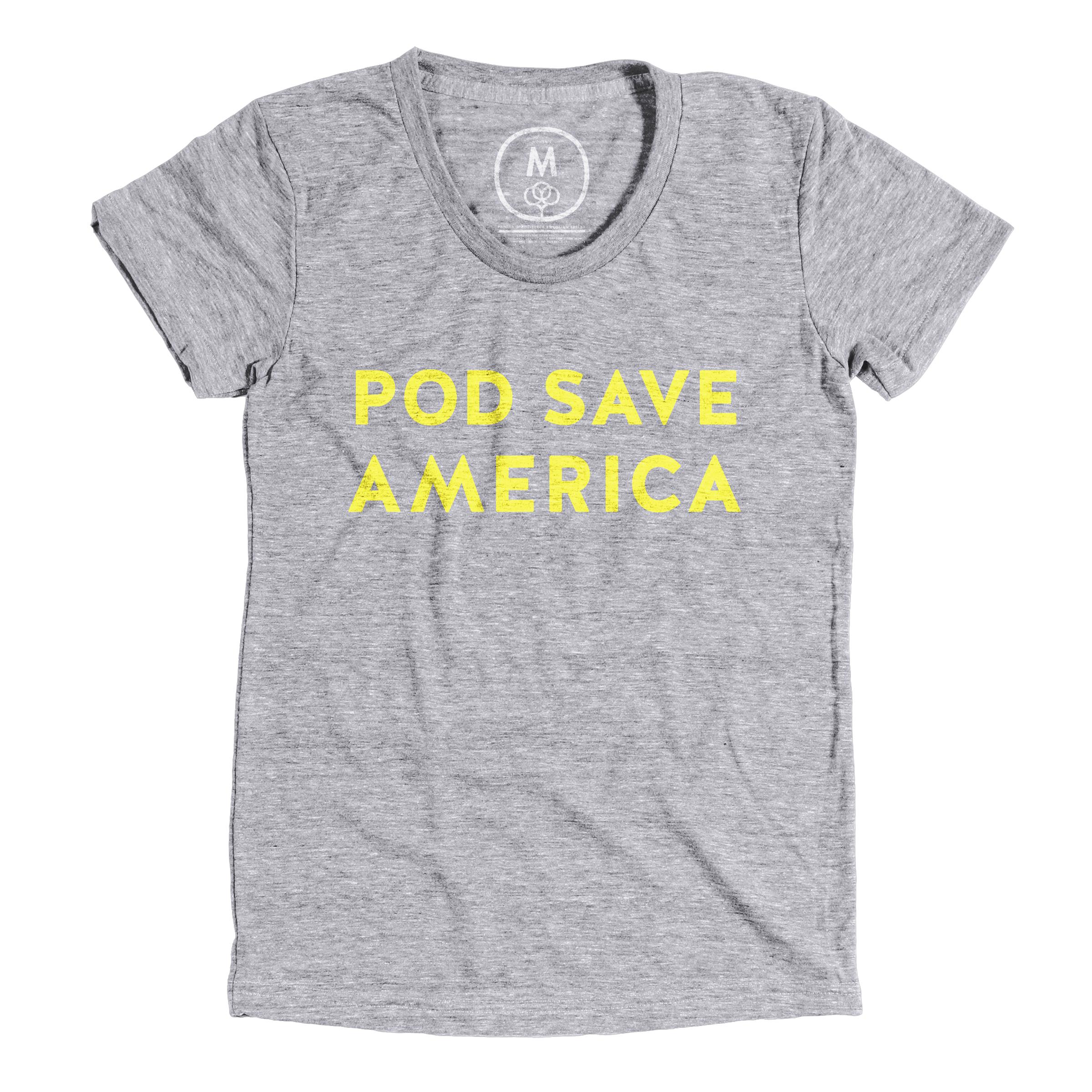Pod Save America Premium Heather (Women's)
