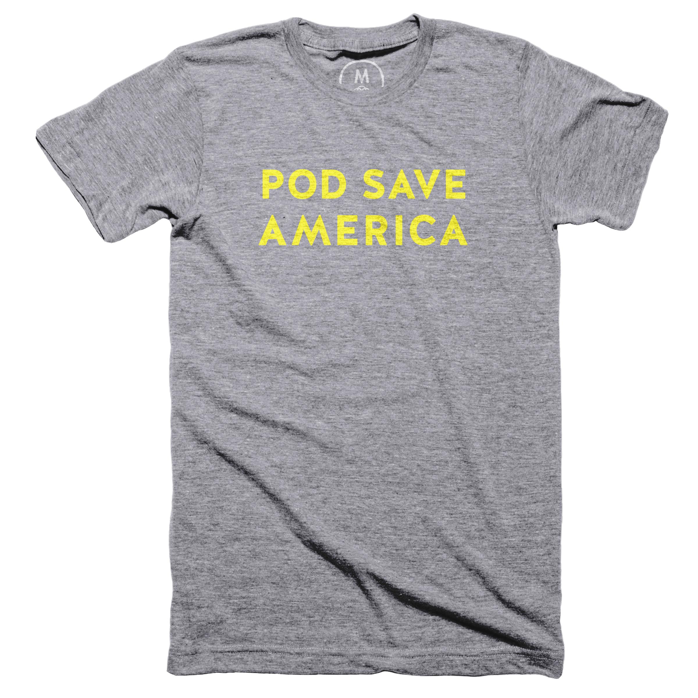 Pod Save America Premium Heather (Men's)