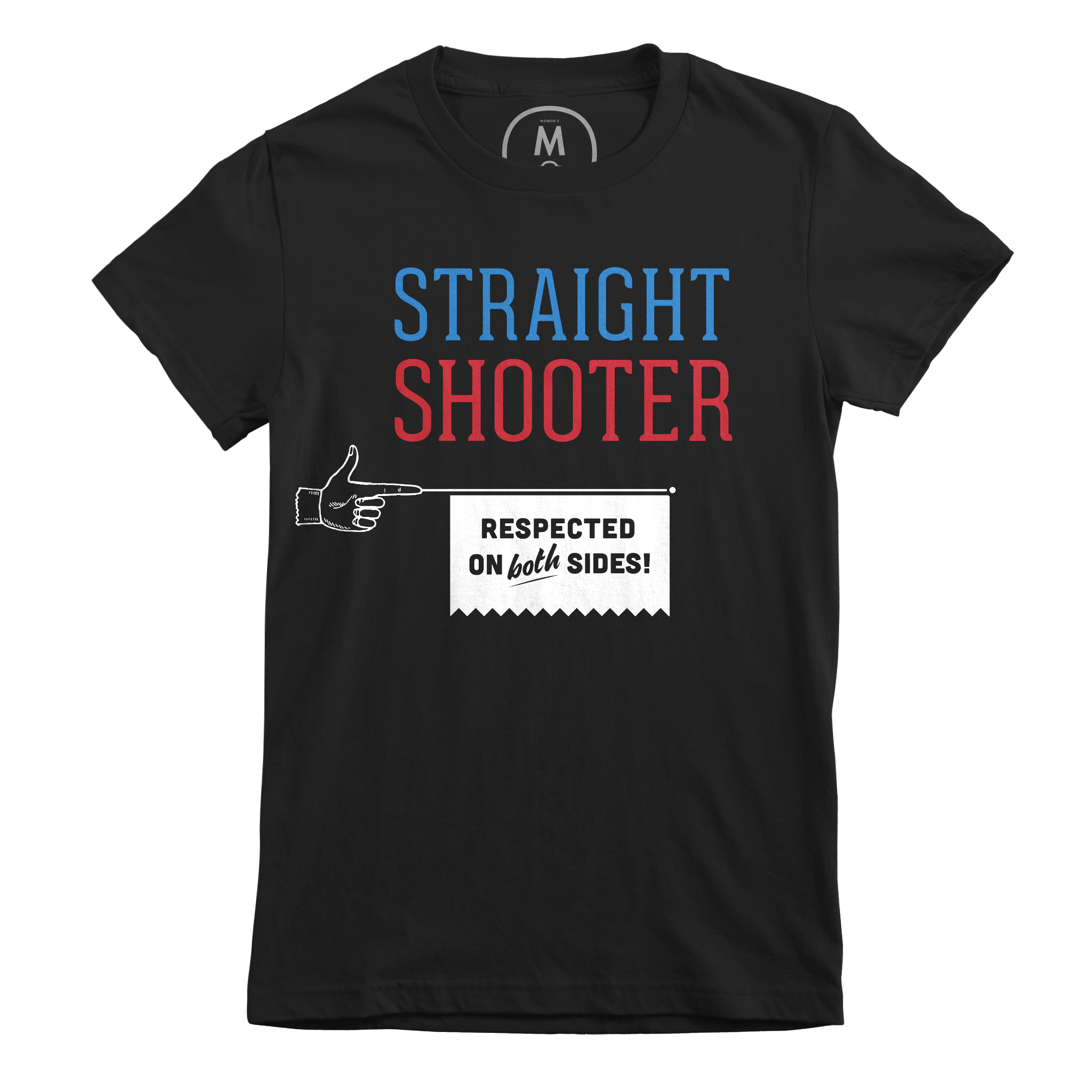 Straight Shooter Black (Women's)