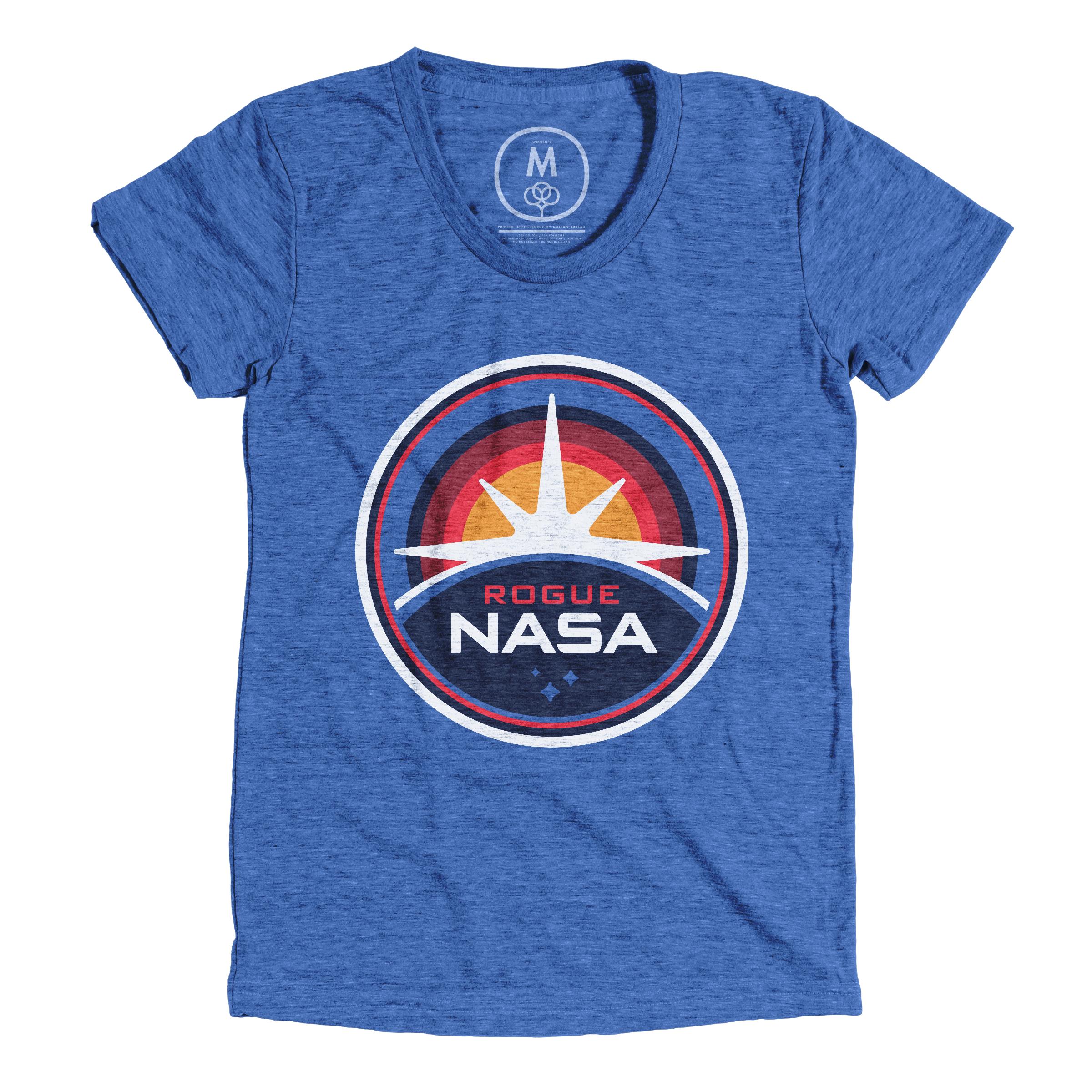 Rogue NASA Insignia Vintage Royal (Women's)