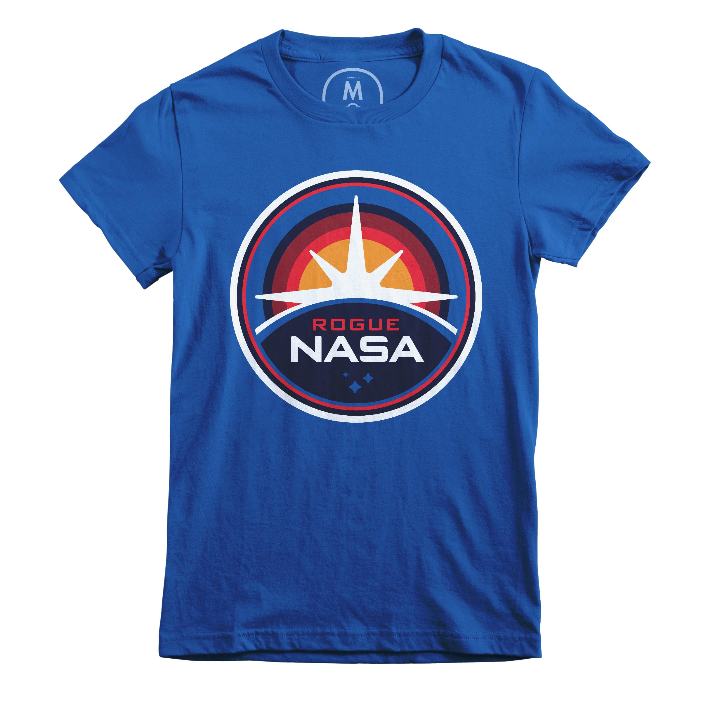 Rogue NASA Insignia Royal (Women's)