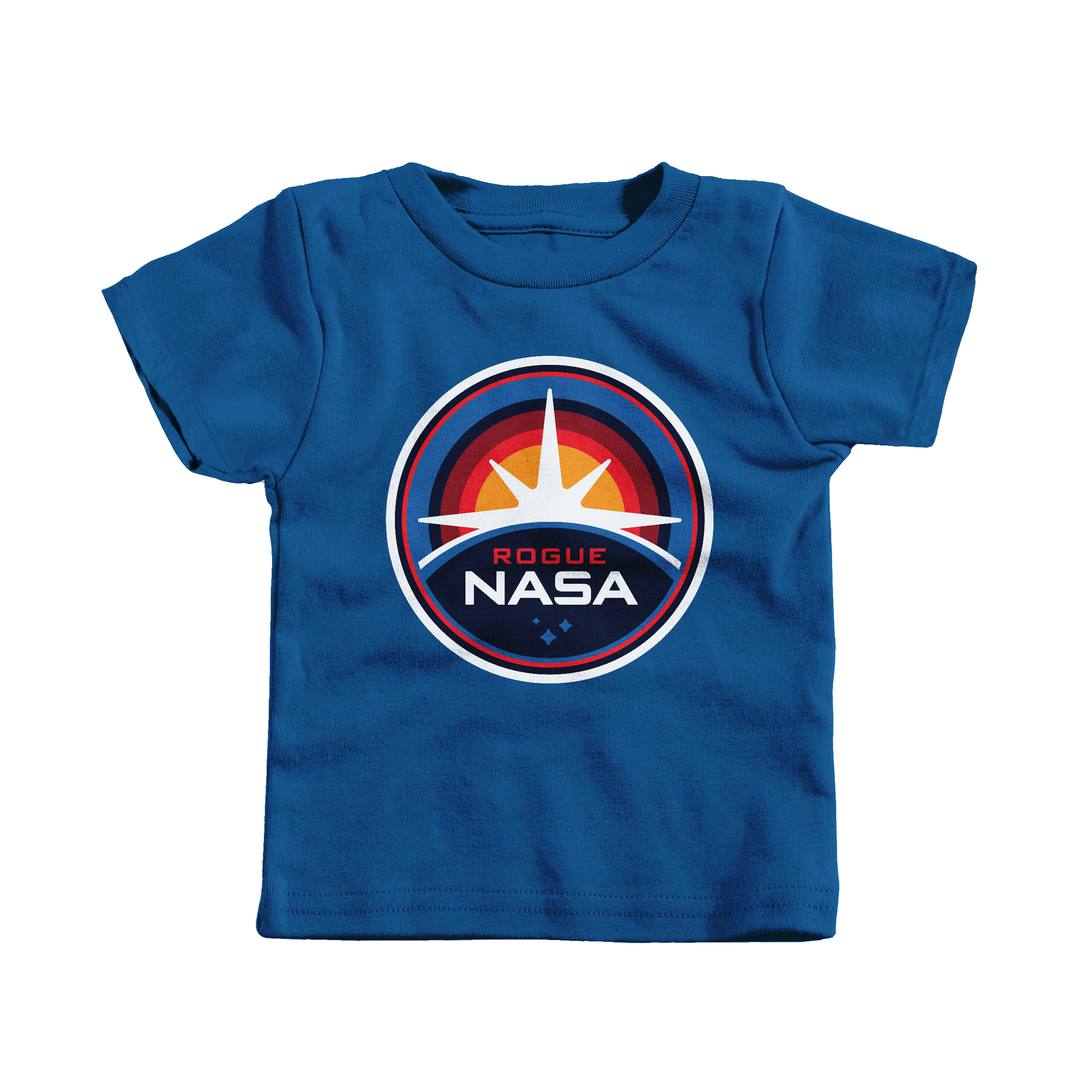 Rogue NASA Insignia Royal (T-Shirt)