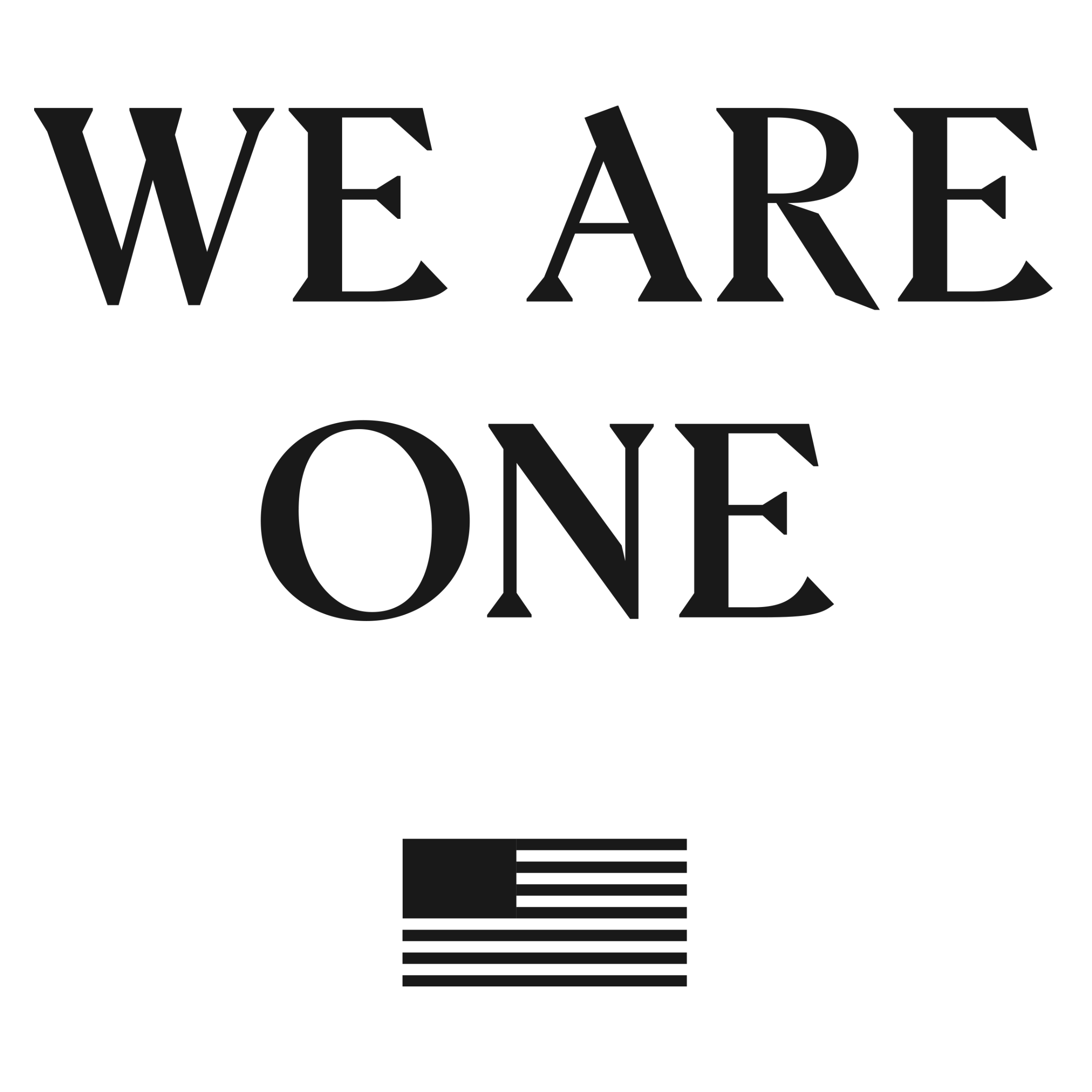 We Are One 🇺🇸