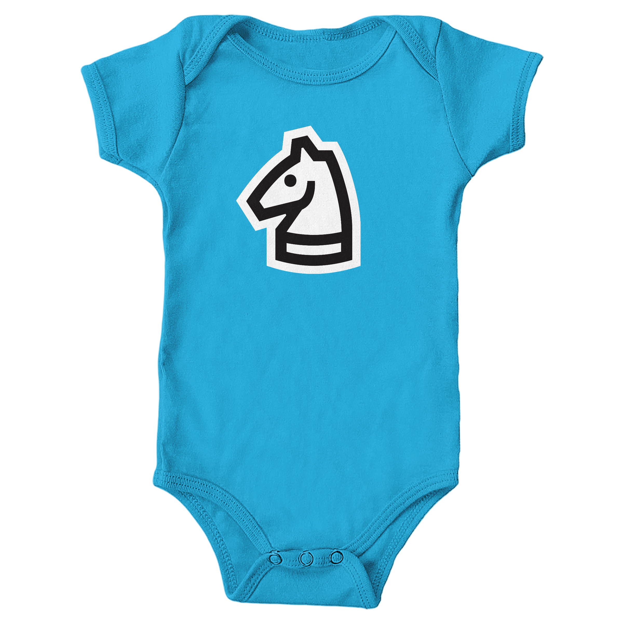 Really Bad Chess Turquoise (Onesie)
