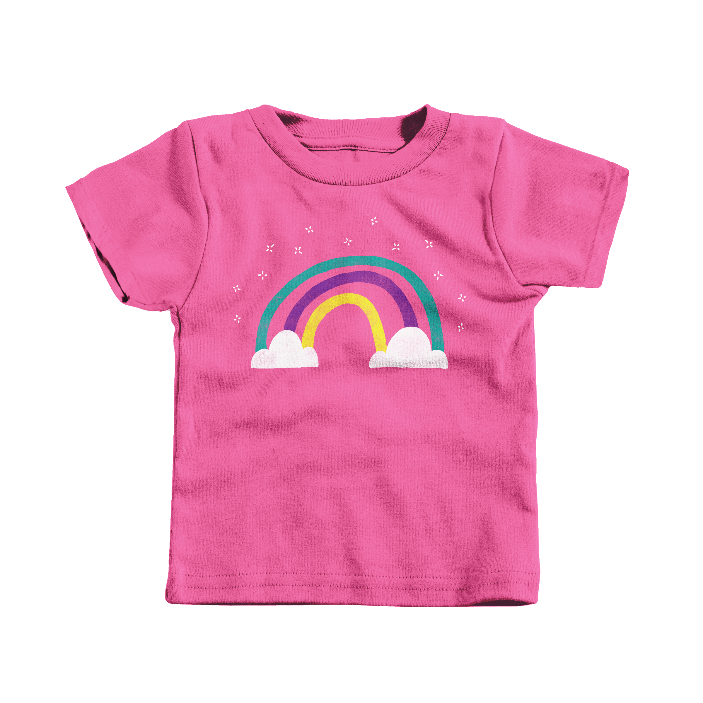 Rainbow Magic Hot Pink (T-Shirt)