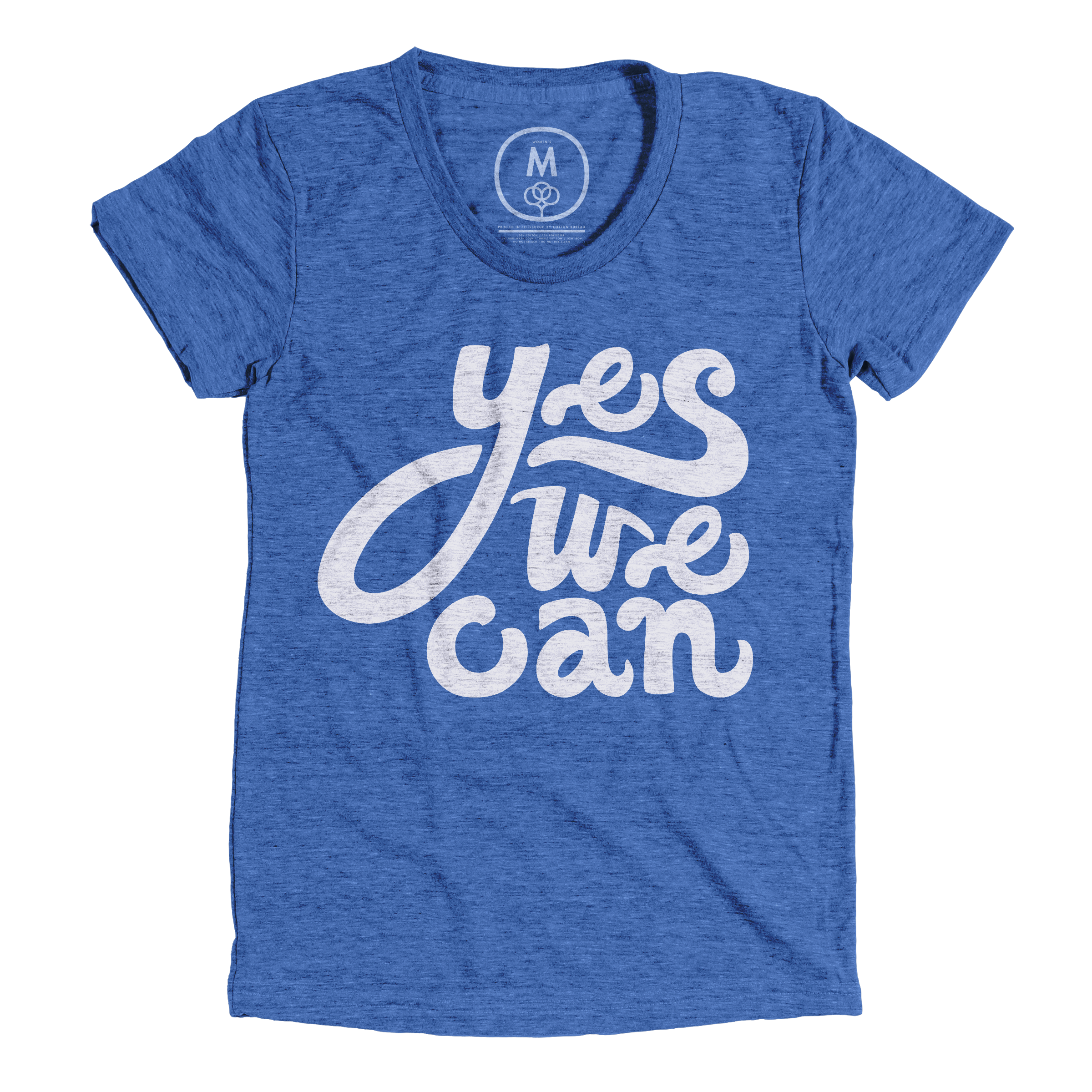 Yes We Can Vintage Royal (Women's)
