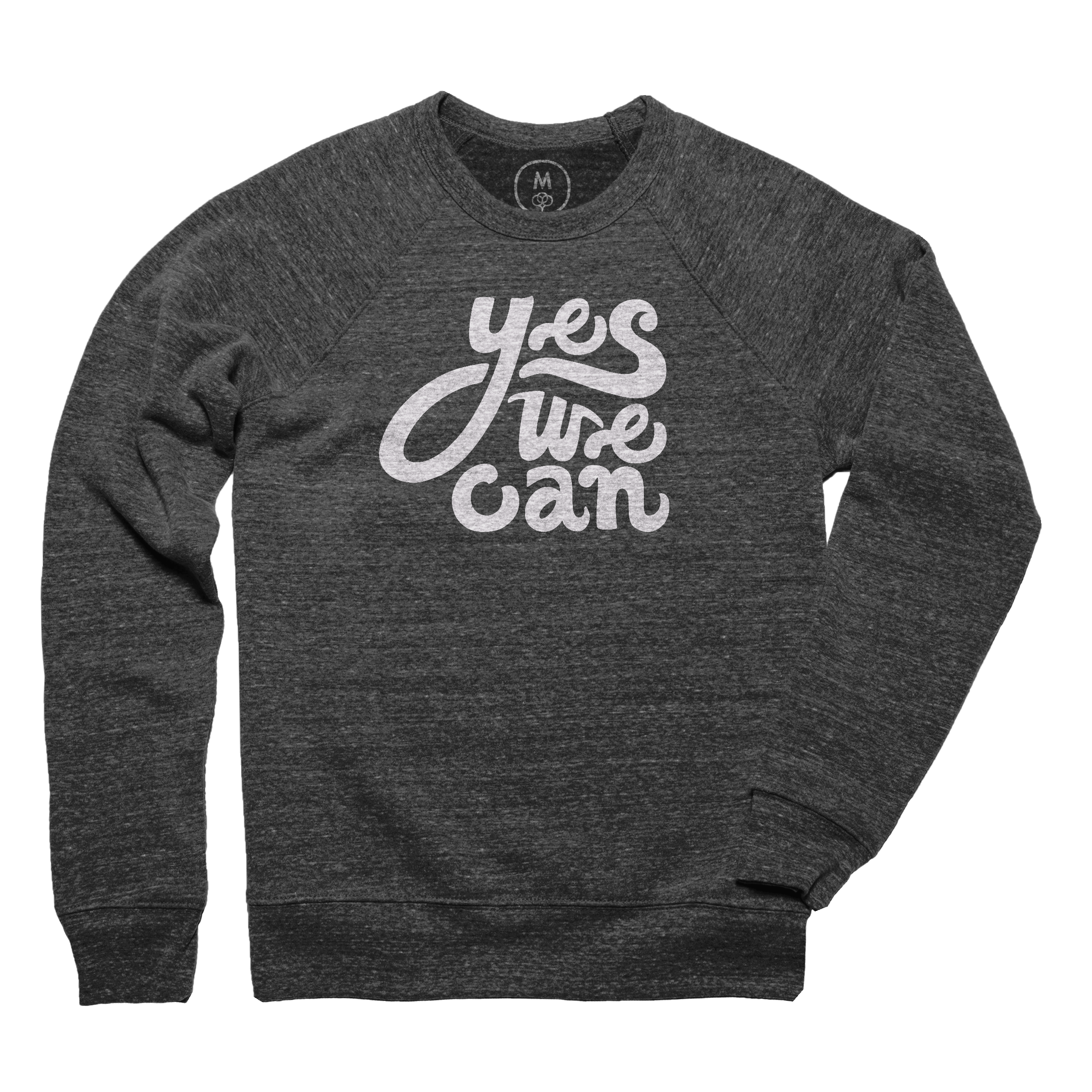 Yes We Can Pullover Crewneck