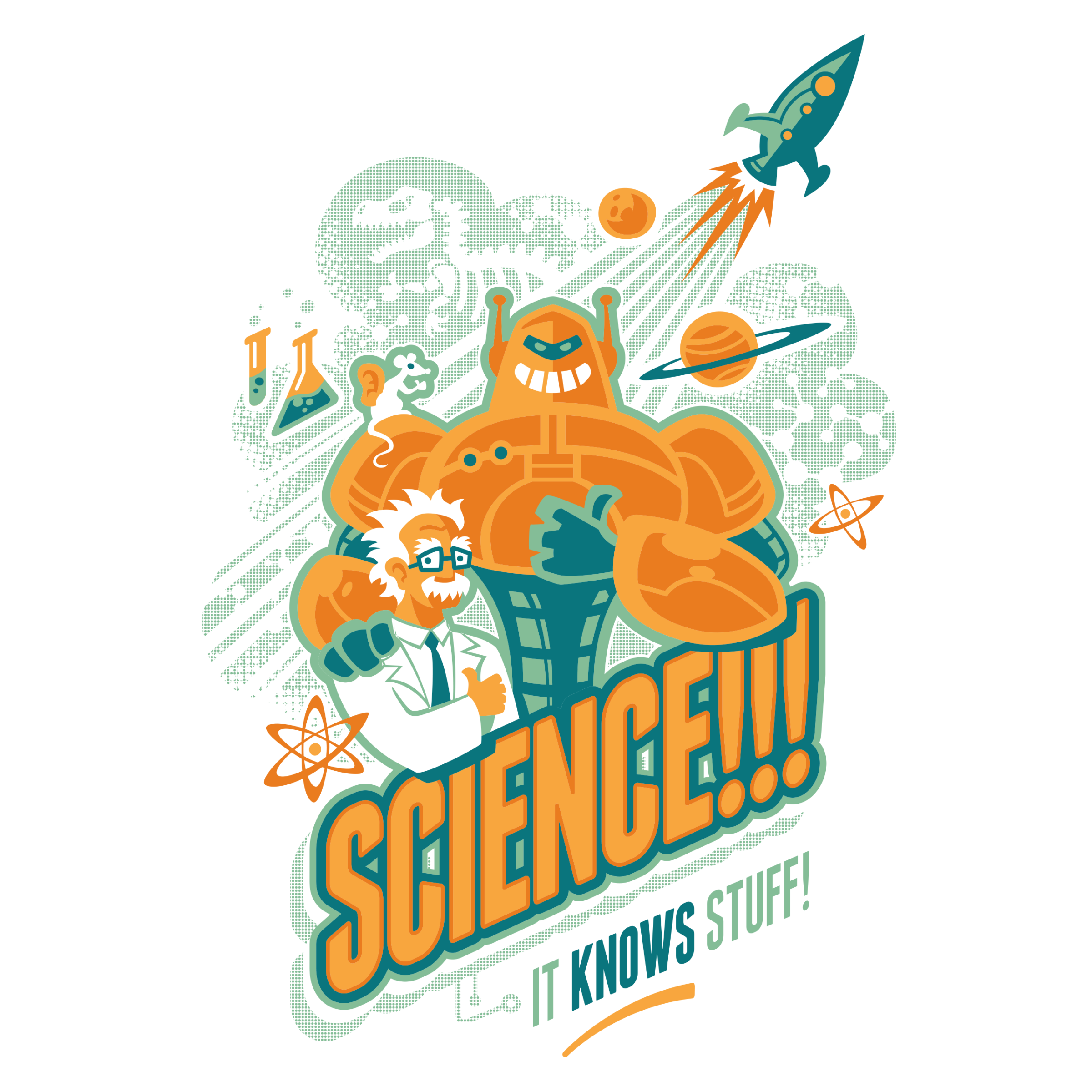 Science!!! It Knows Stuff! Detail