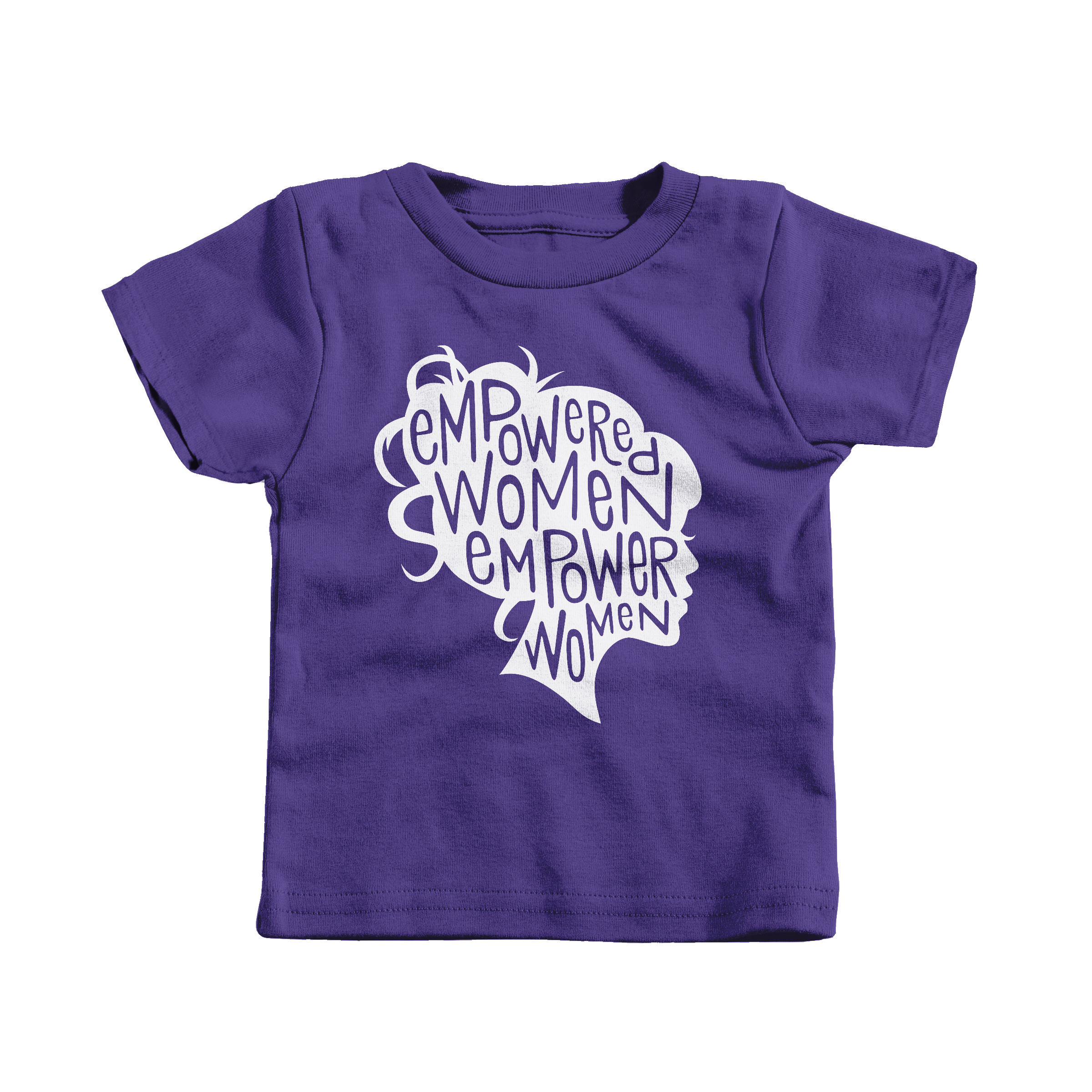 Empowered Women Empower Women Purple (T-Shirt)