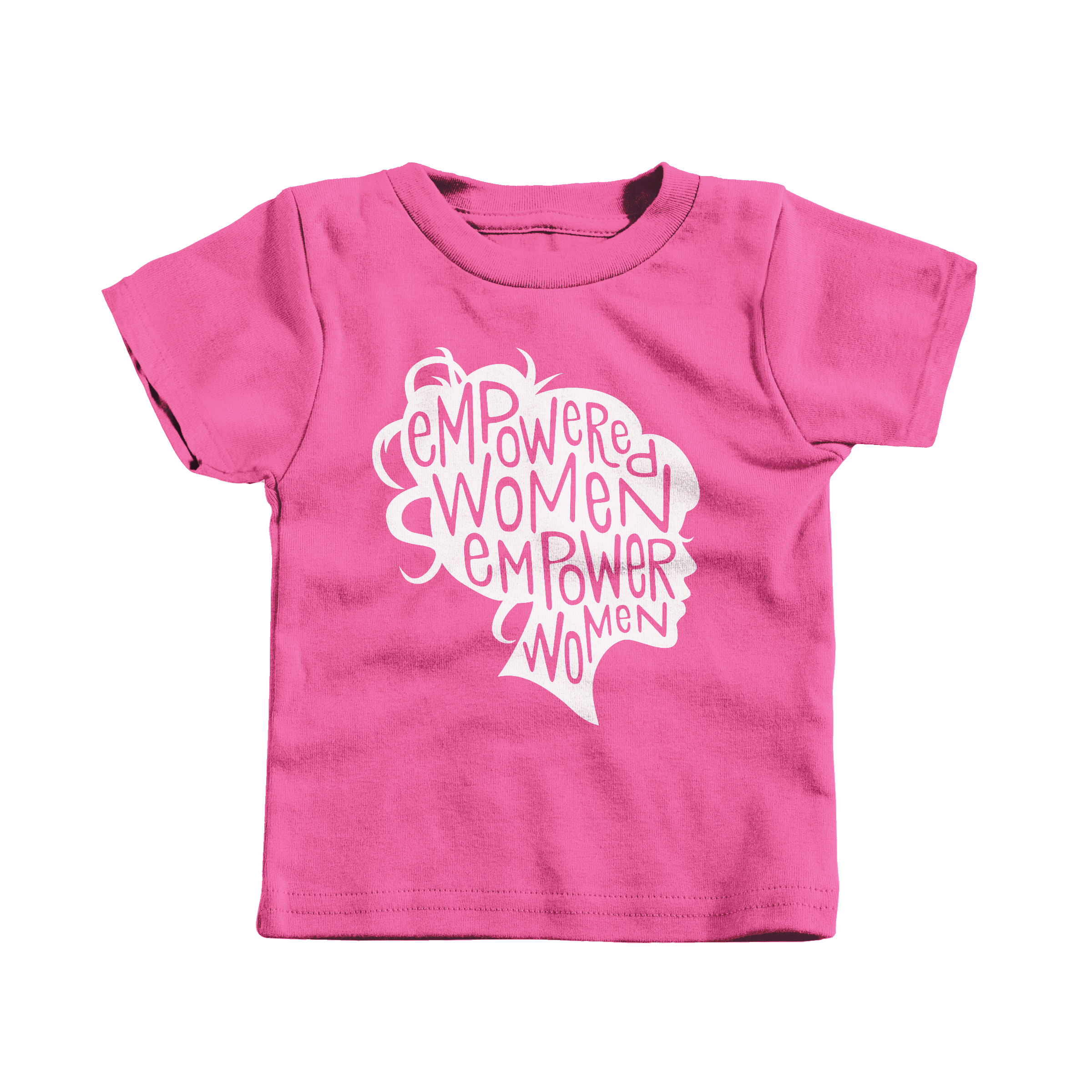 Empowered Women Empower Women Hot Pink (T-Shirt)
