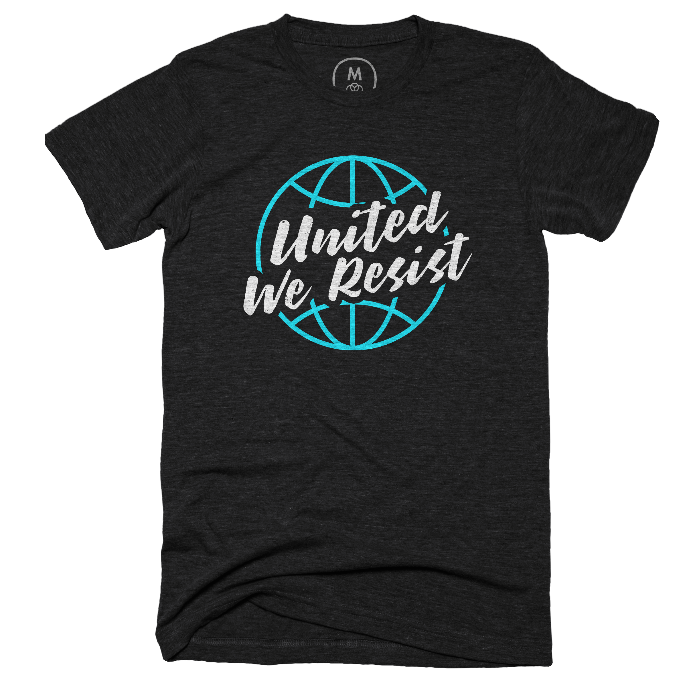 United We Resist Vintage Black (Men's)