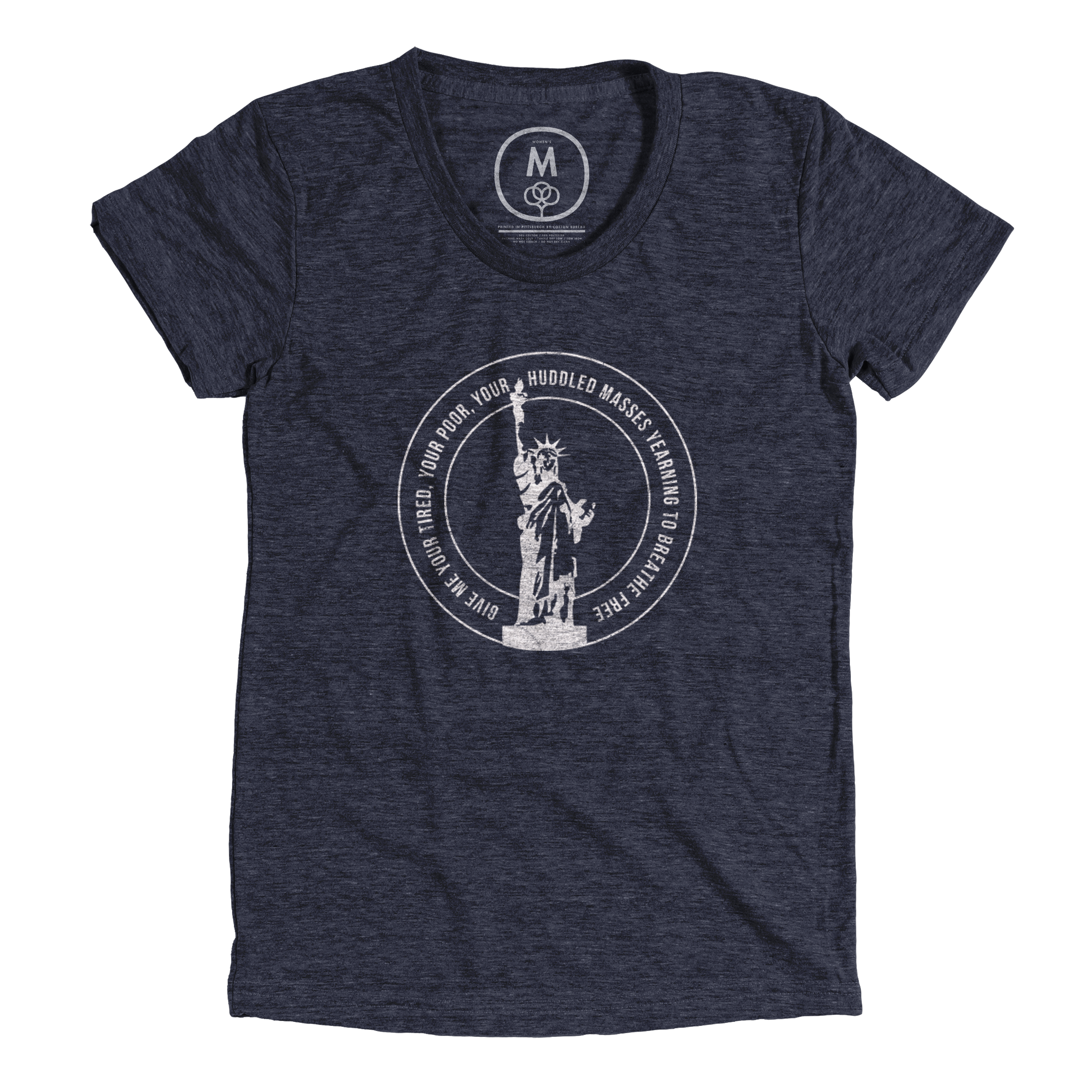 Lady Liberty Vintage Navy (Women's)