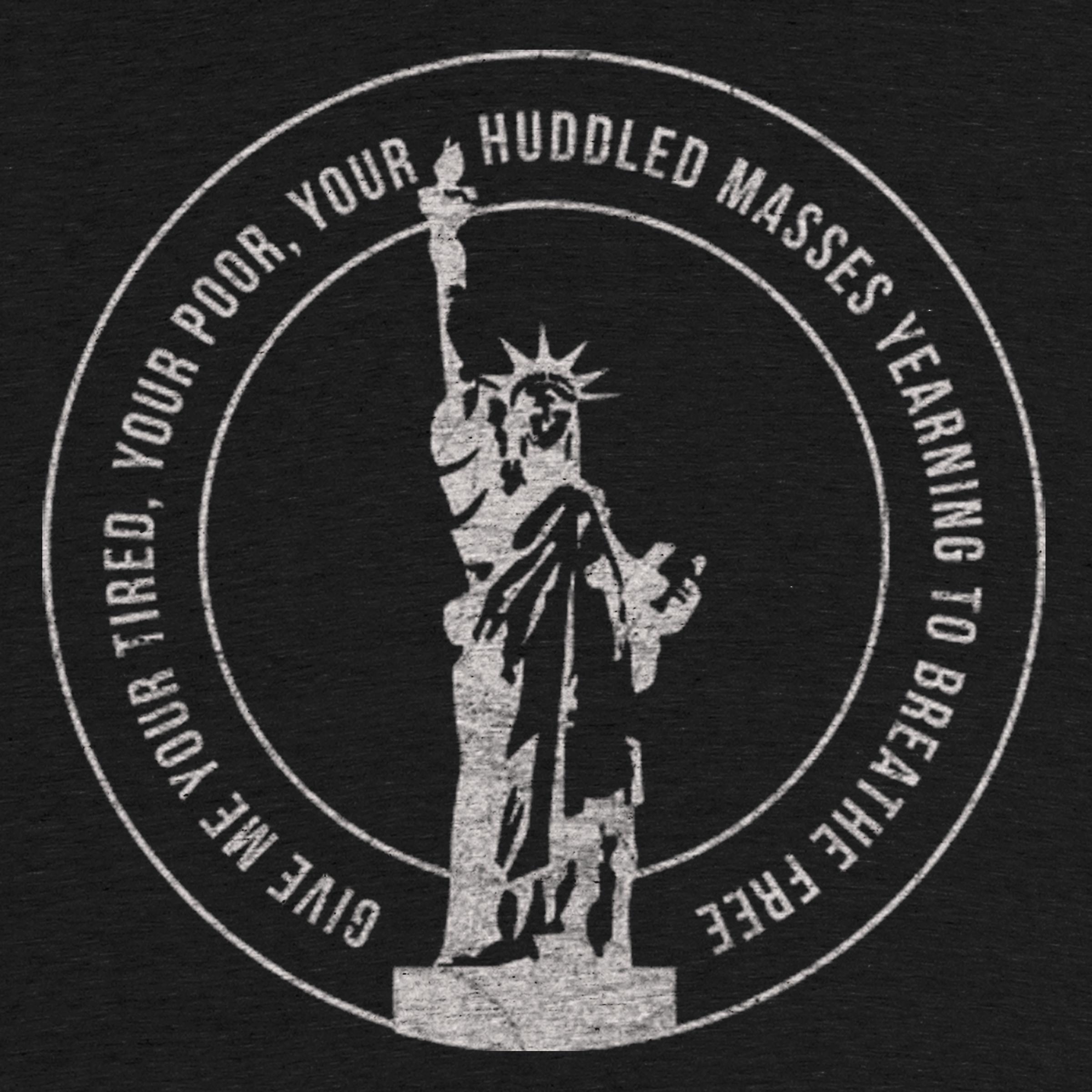 Lady Liberty Detail
