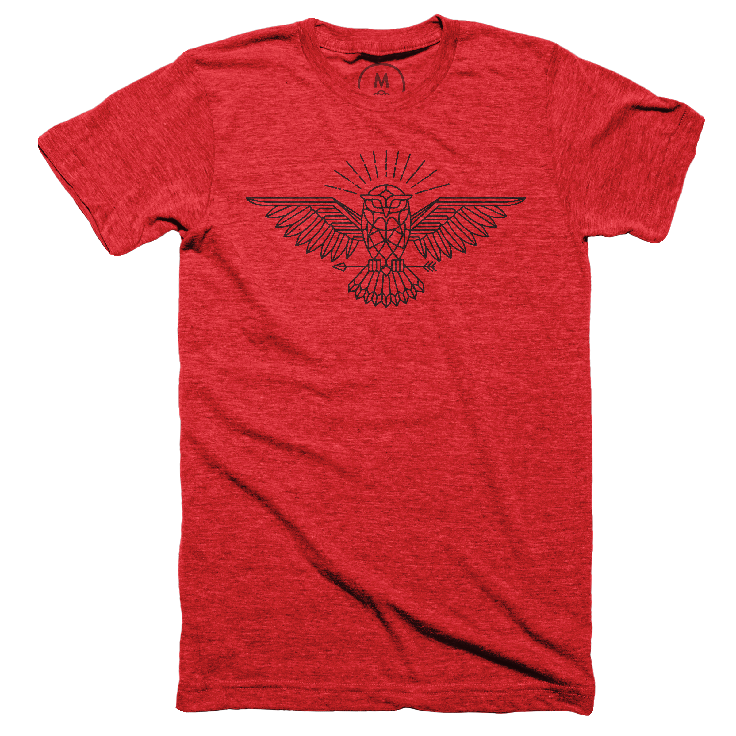 All Knowing Owl Vintage Red (Men's)