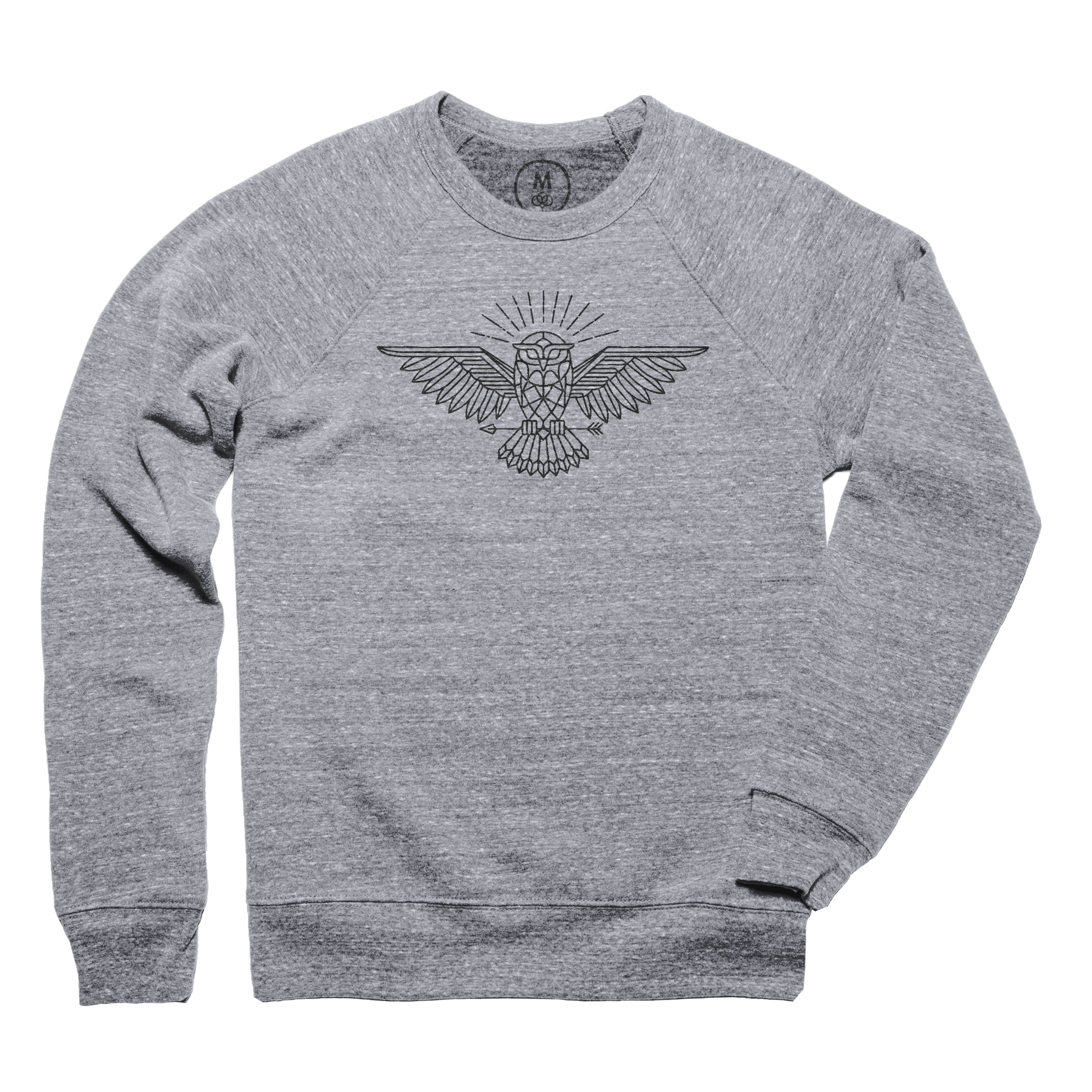 All Knowing Owl Pullover Crewneck