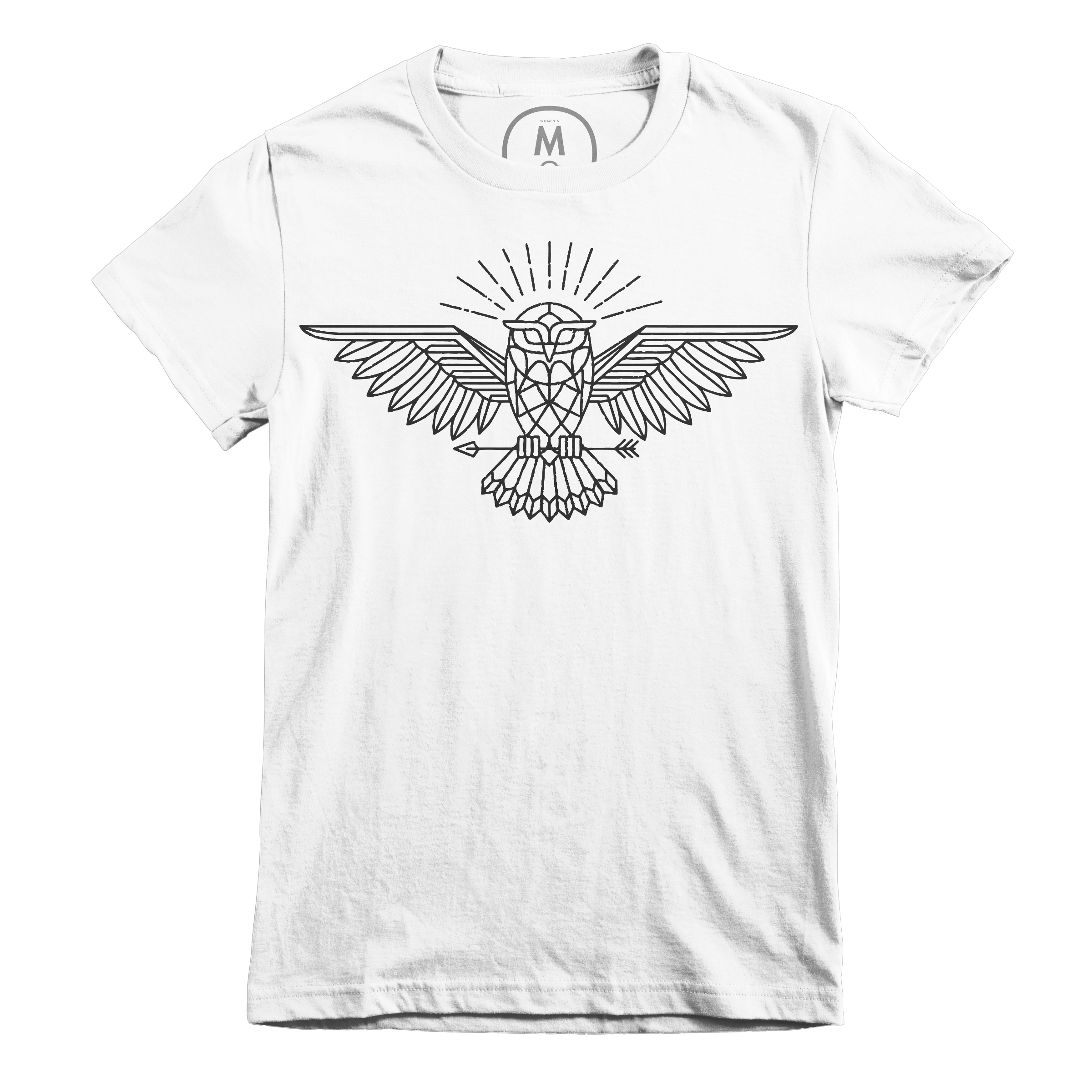 All Knowing Owl White (Women's)