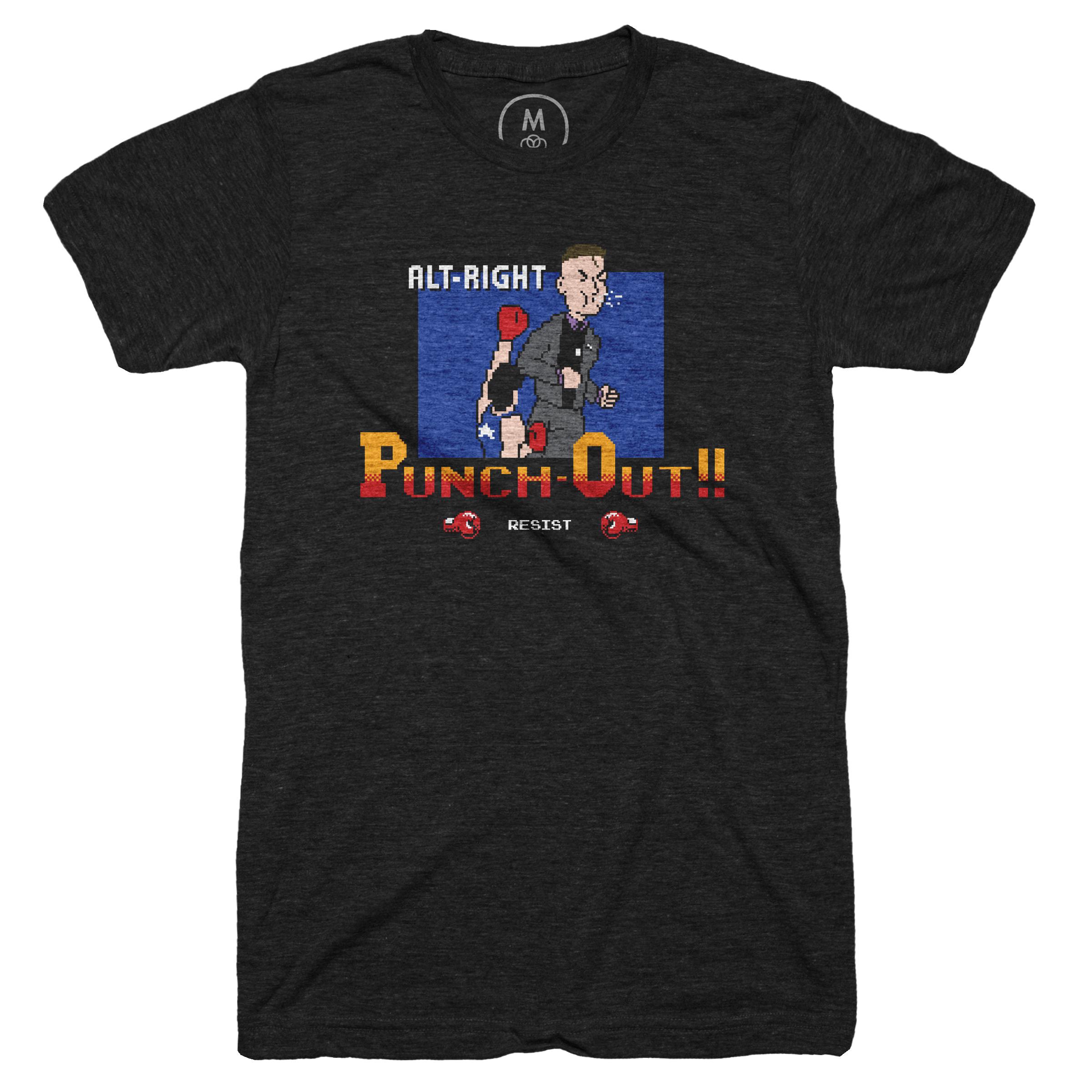 Alt-Right Punch-Out!! Vintage Black (Men's)
