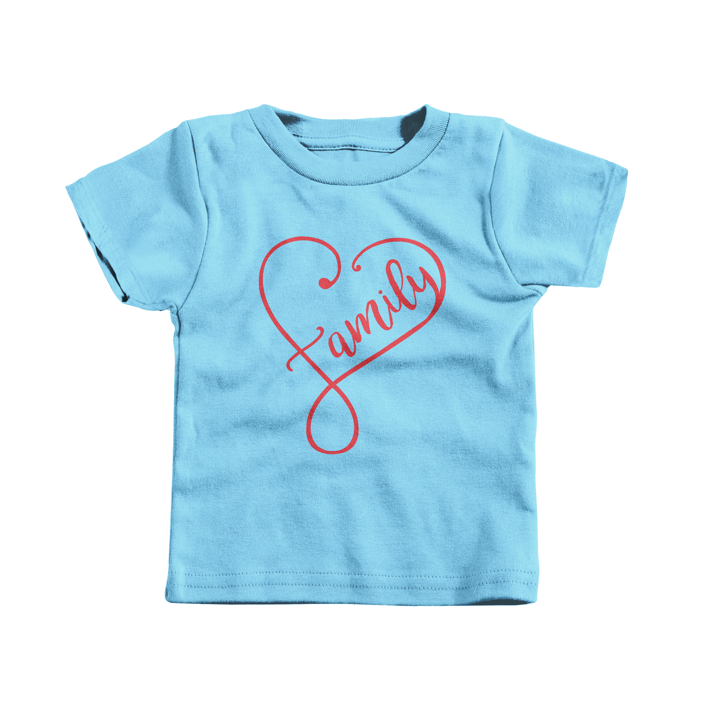 Forever Family Light Blue (T-Shirt)