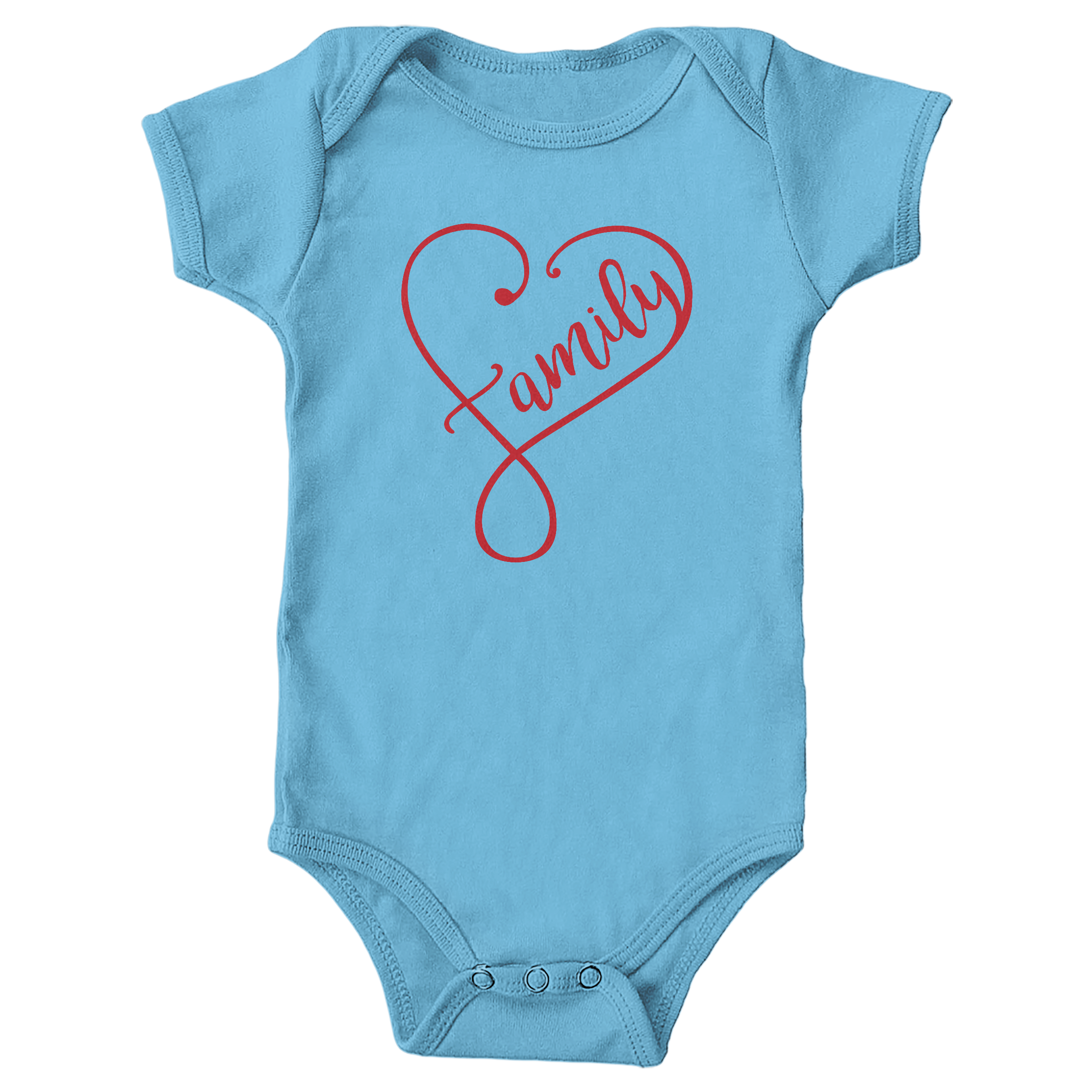 Forever Family Light Blue (Onesie)