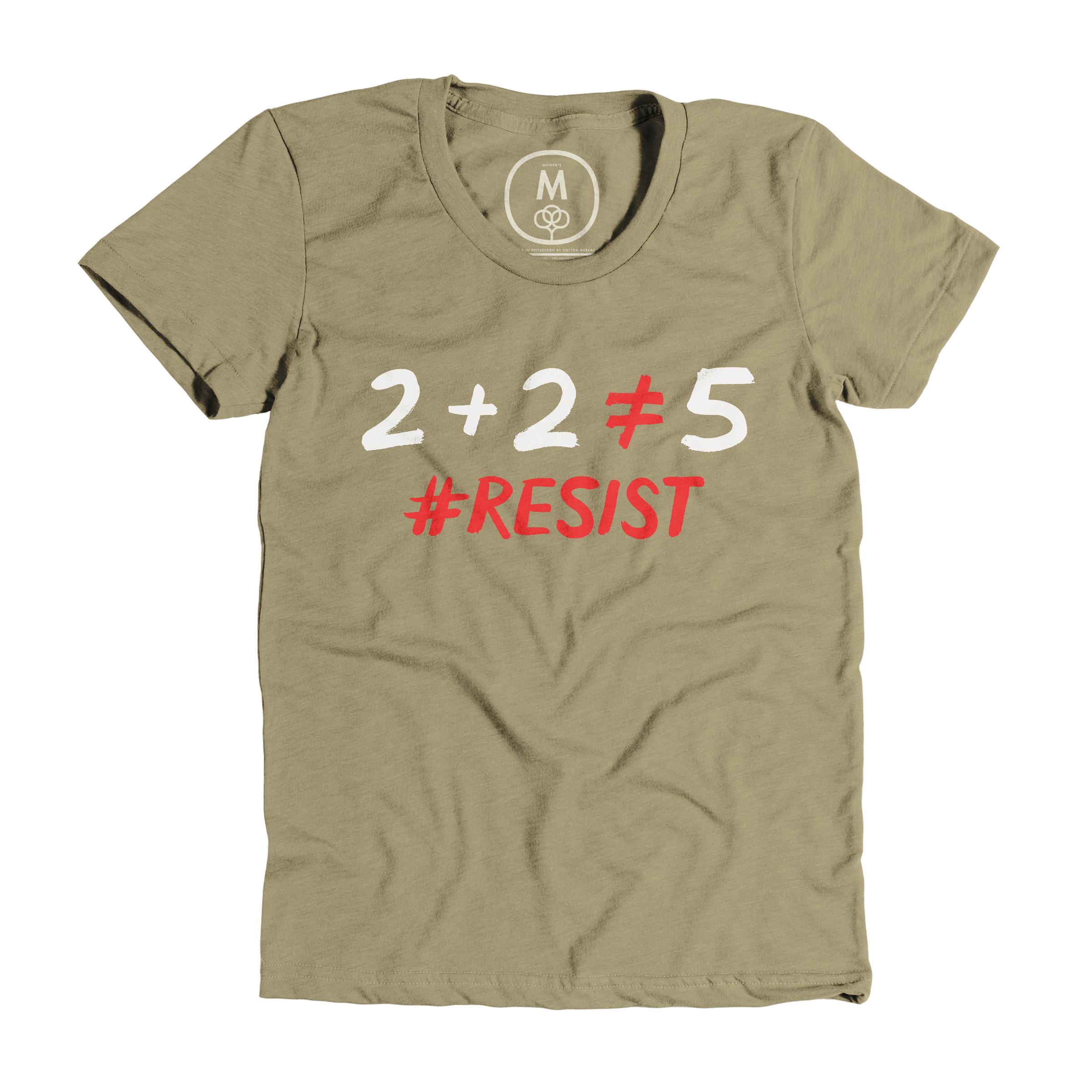 #Resist Light Olive (Women's)