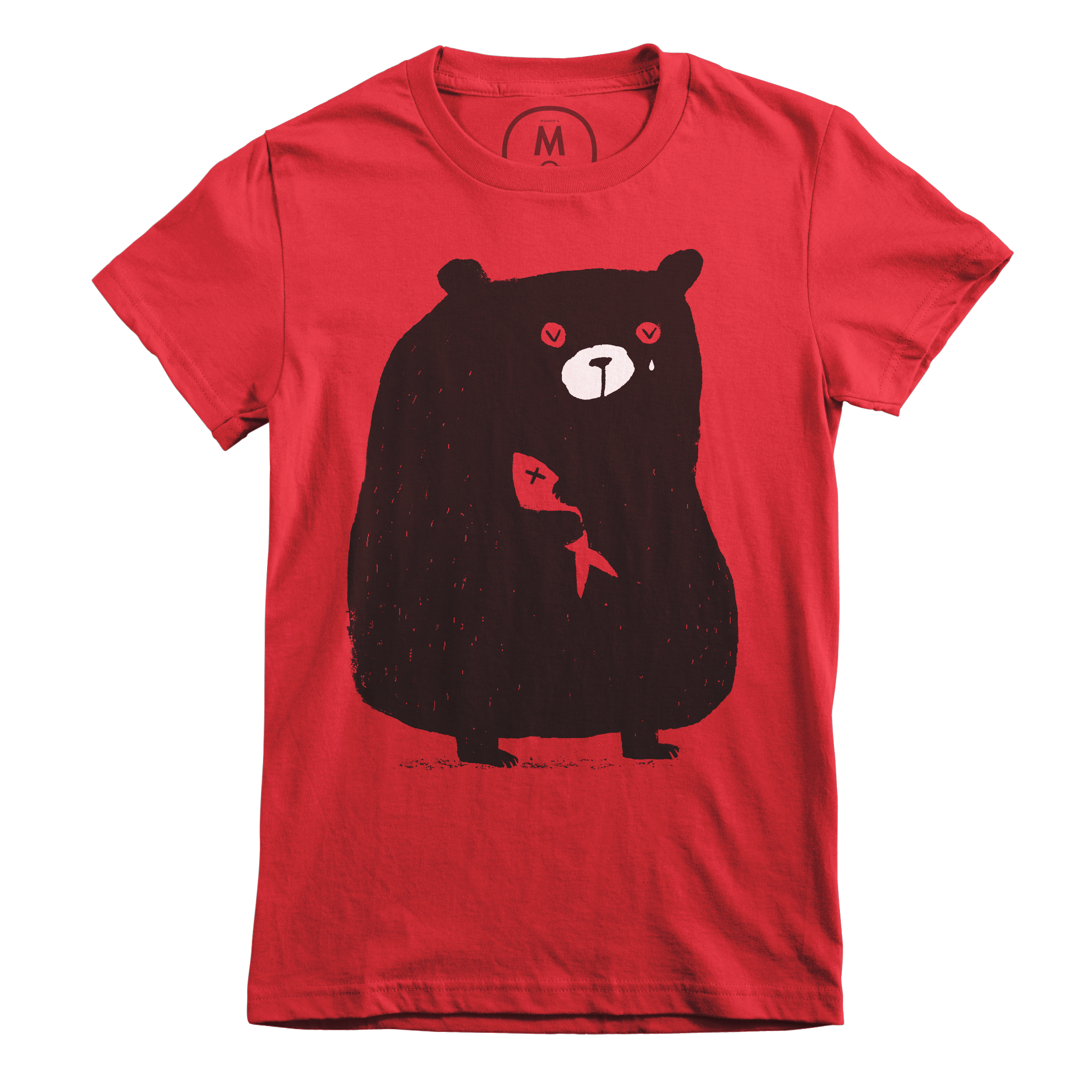 I'm Beary Sorry Red (Women's)