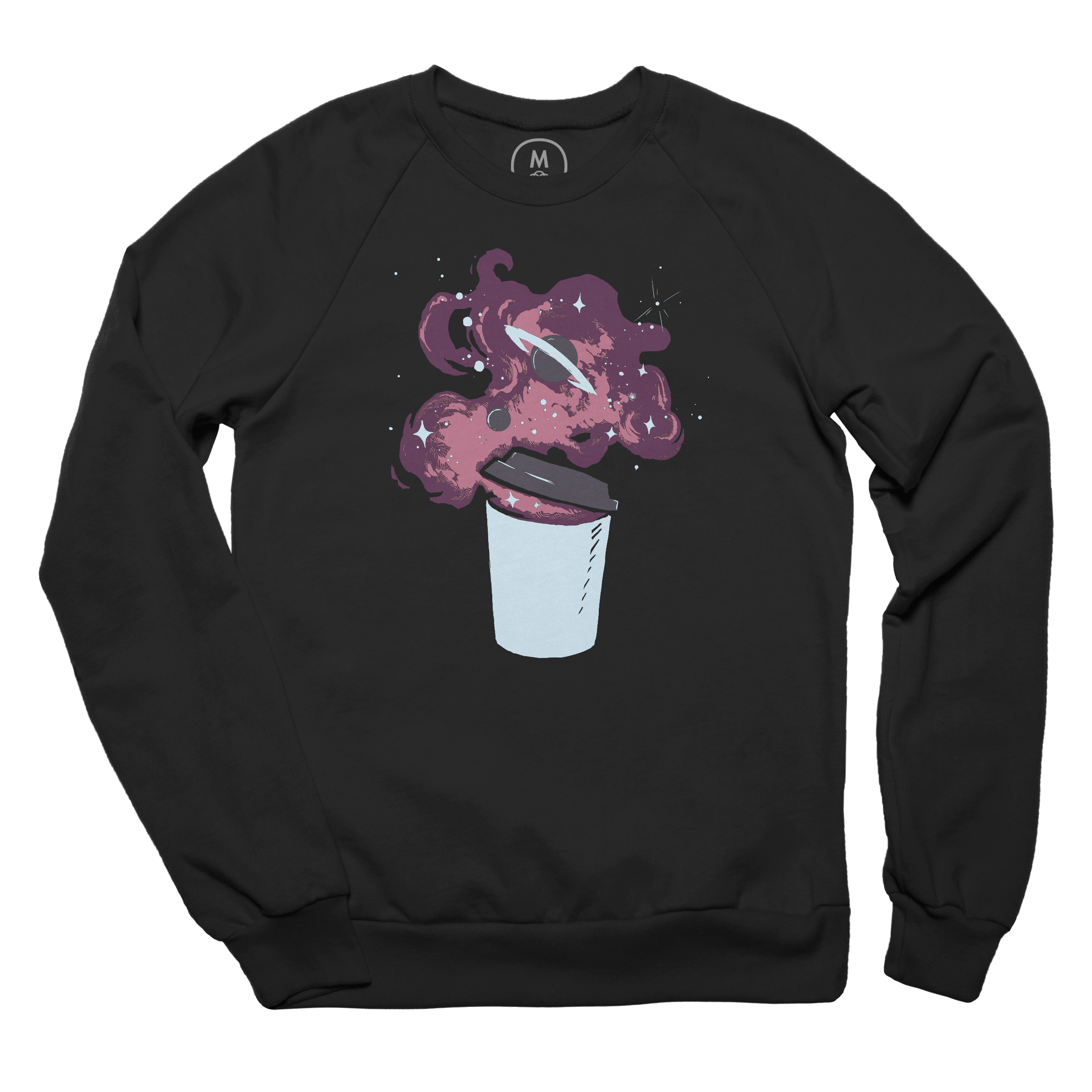 Cup of Something Cosmic Pullover Crewneck