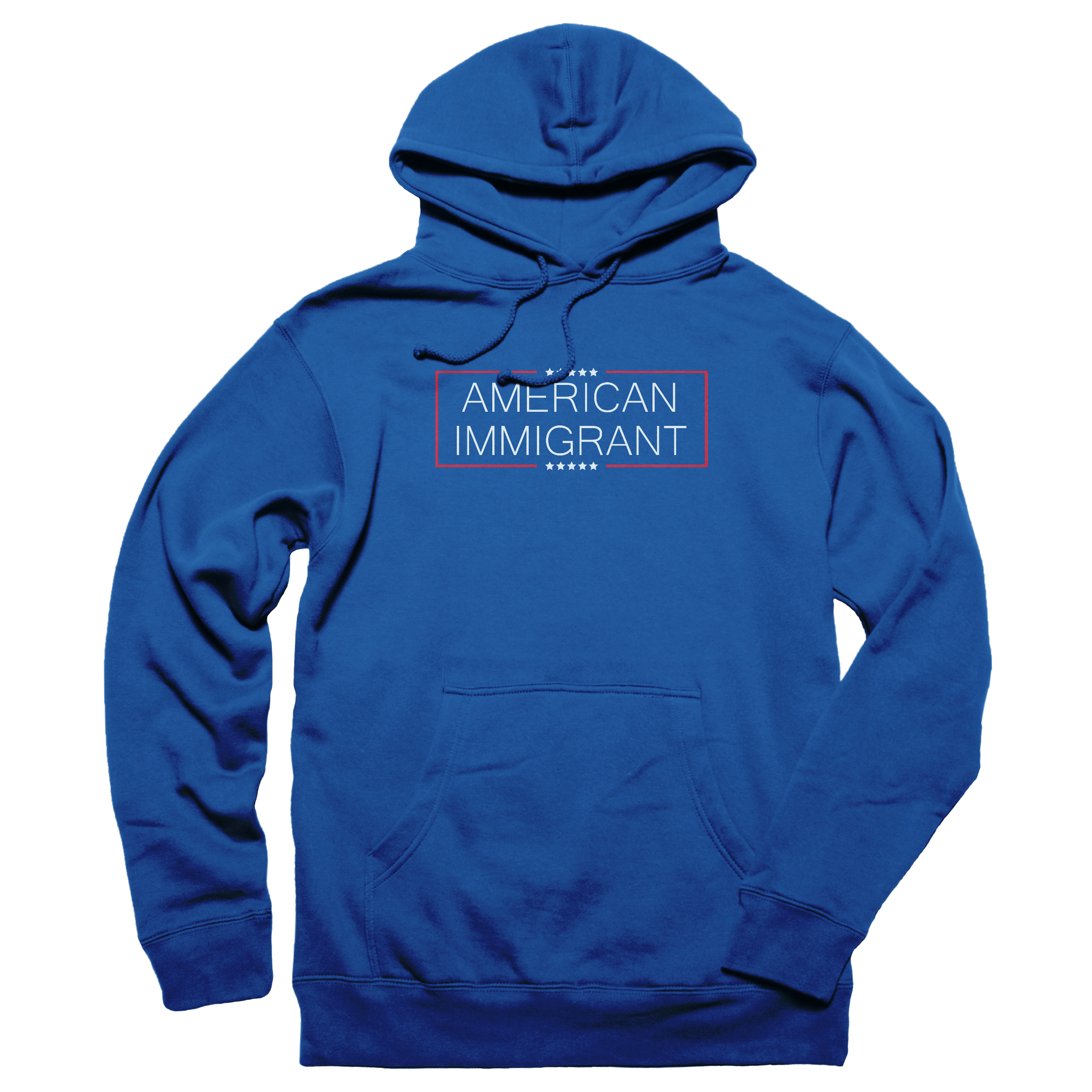 American Immigrant Pullover Hoodie