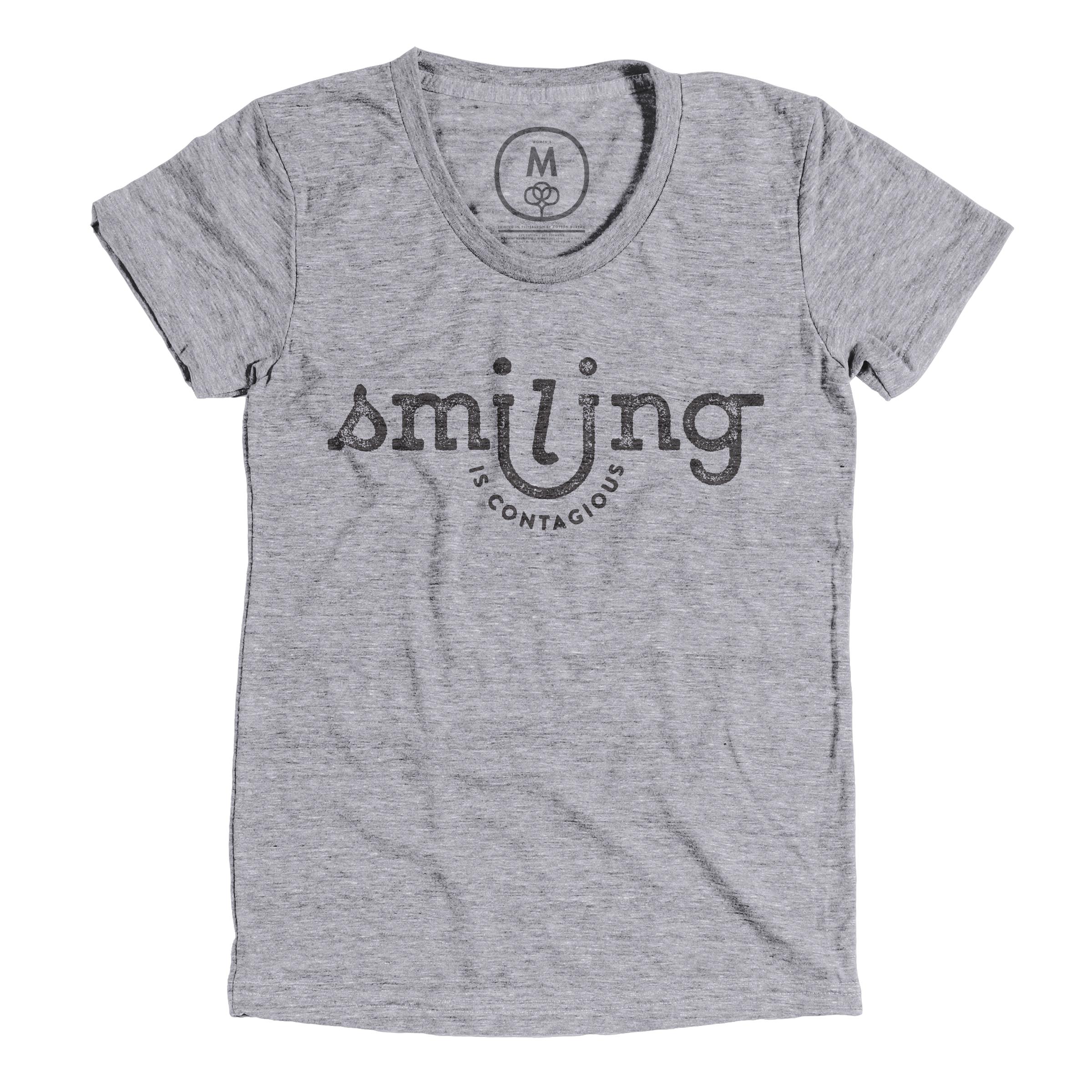 Smiling Is Contagious Premium Heather (Women's)