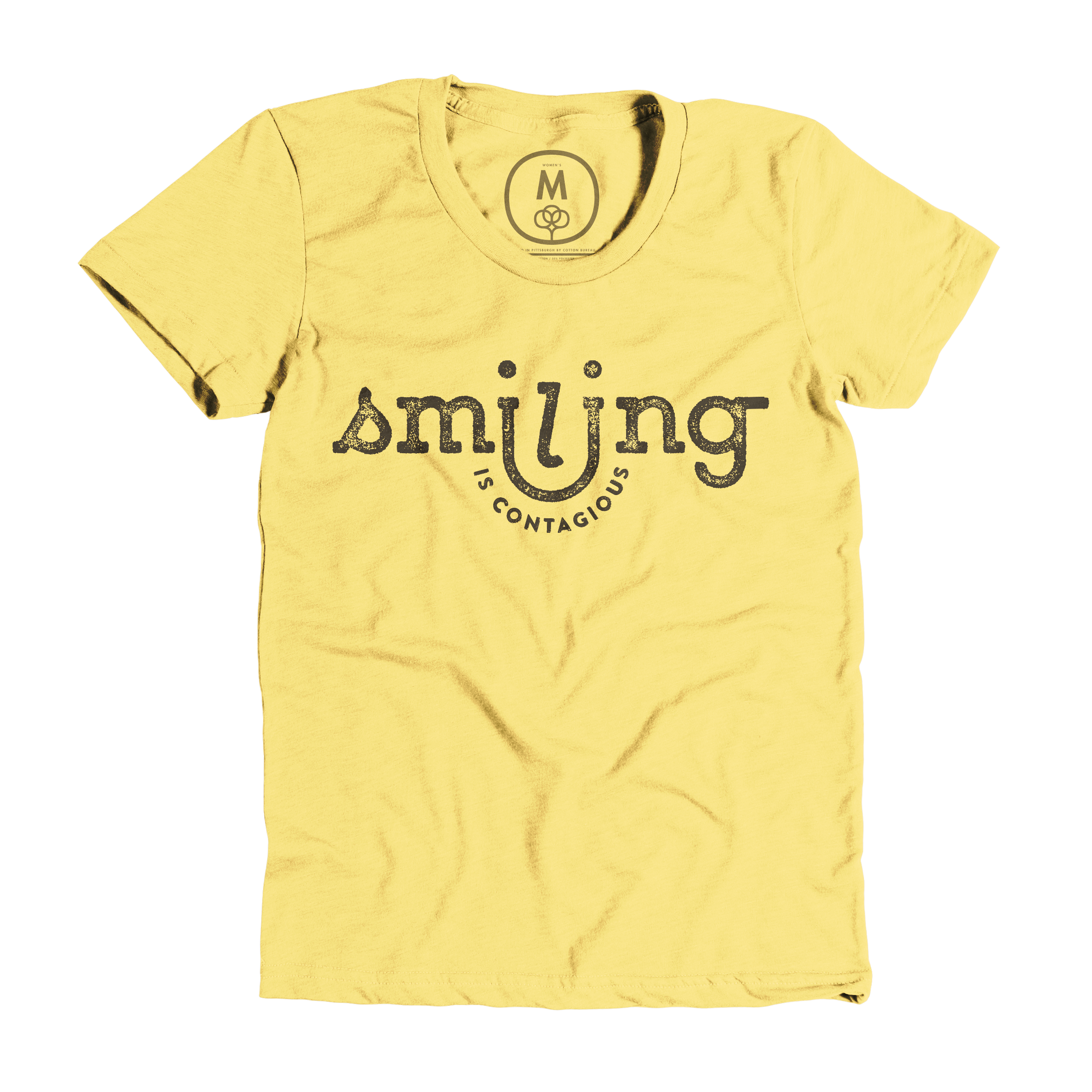 Smiling Is Contagious Banana Cream (Women's)