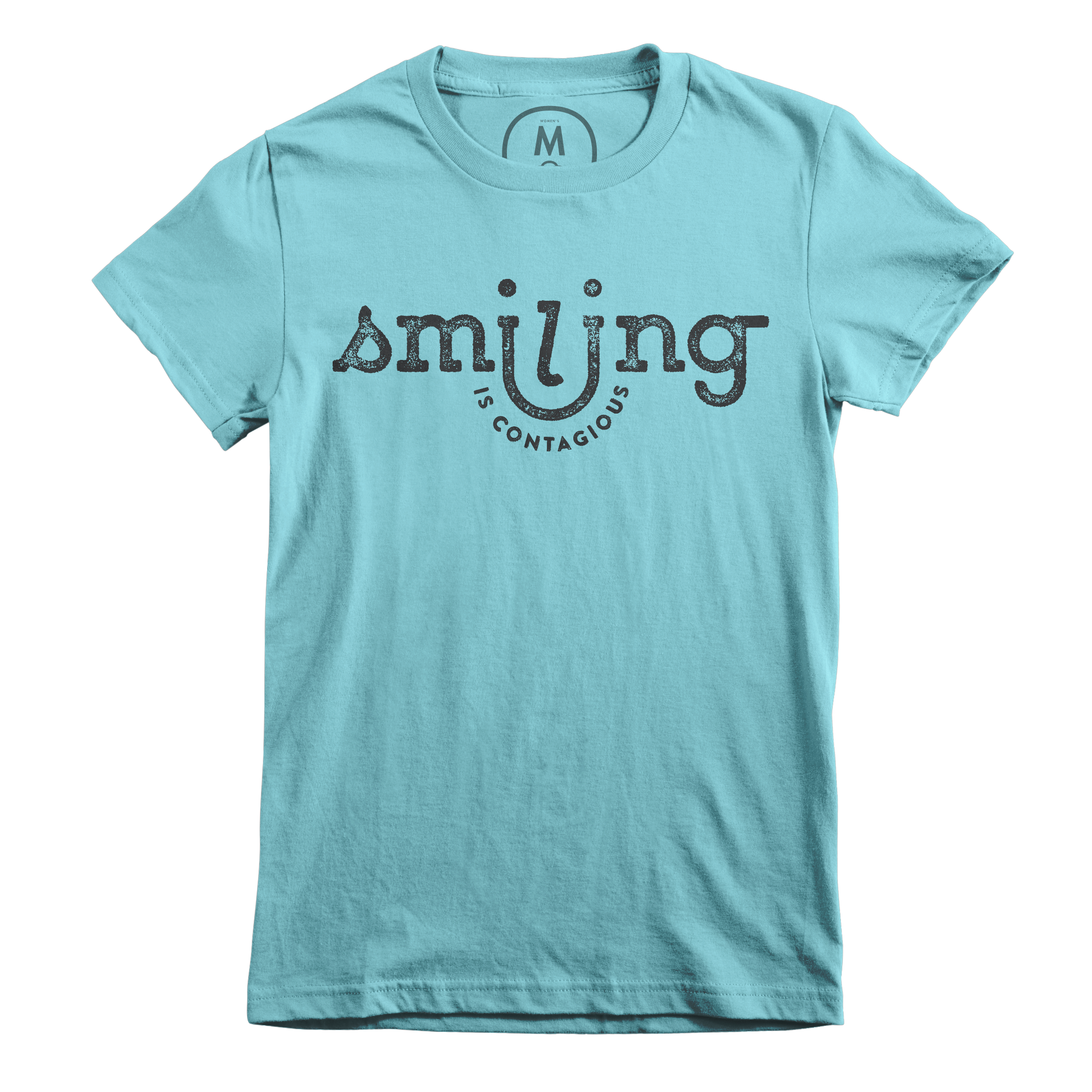 Smiling Is Contagious Tahiti Blue (Women's)