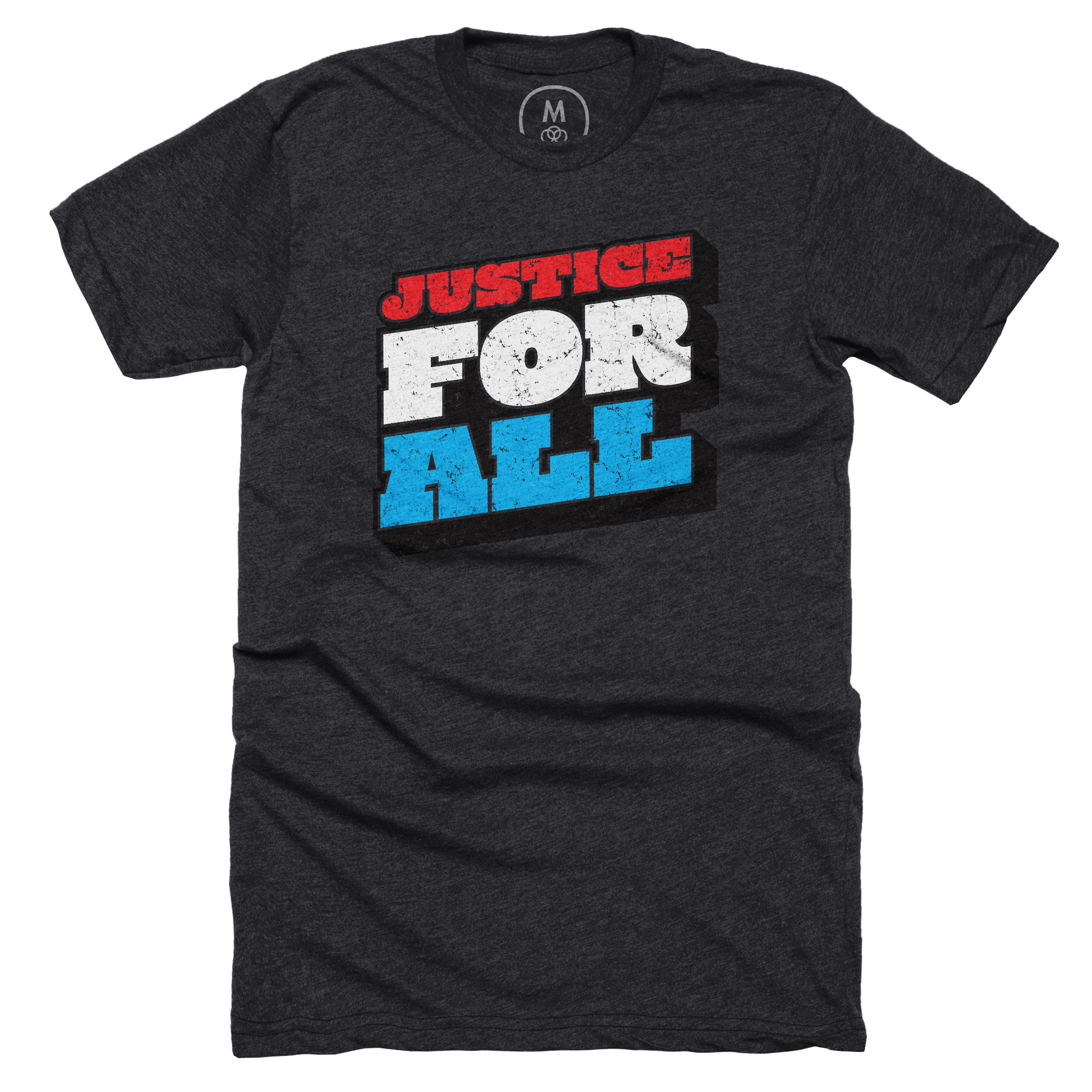 Justice For All Charcoal (Men's)