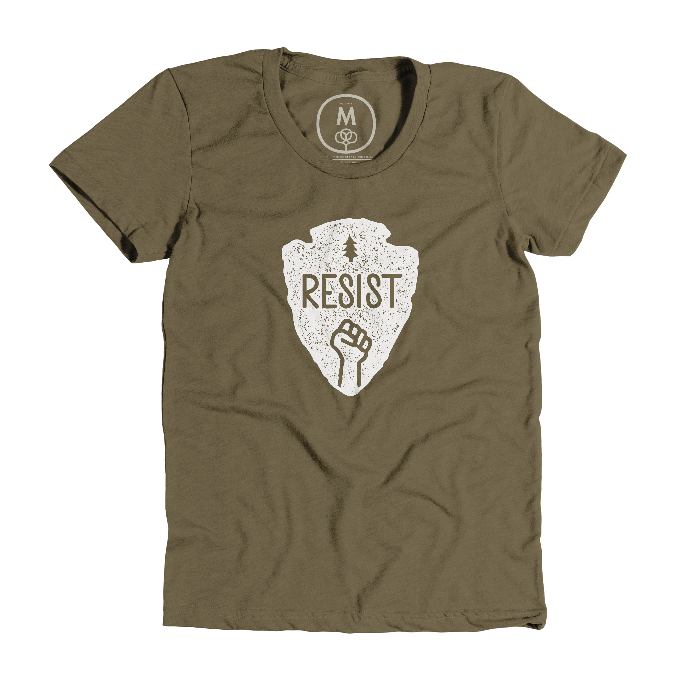 Resist Military Green (Women's)