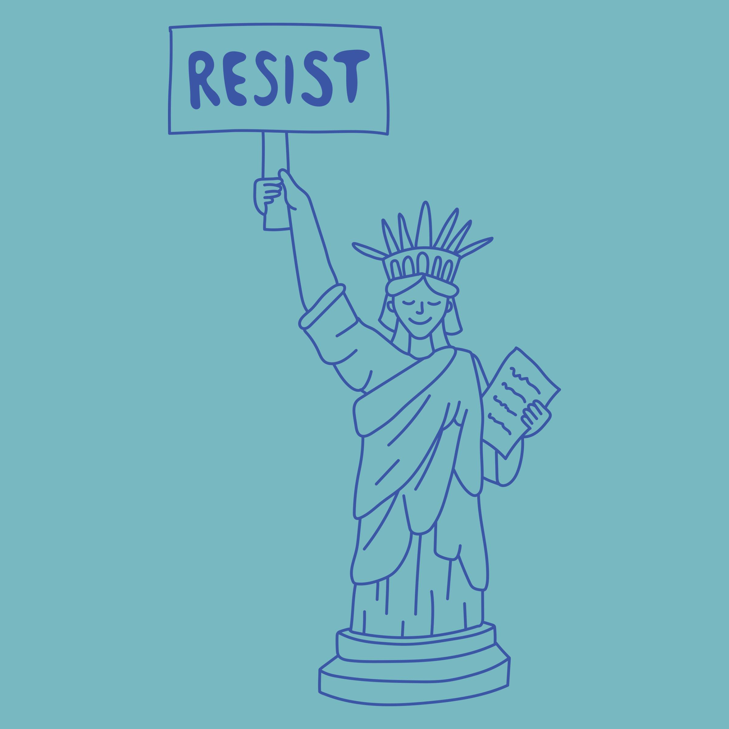 Statue of Resist