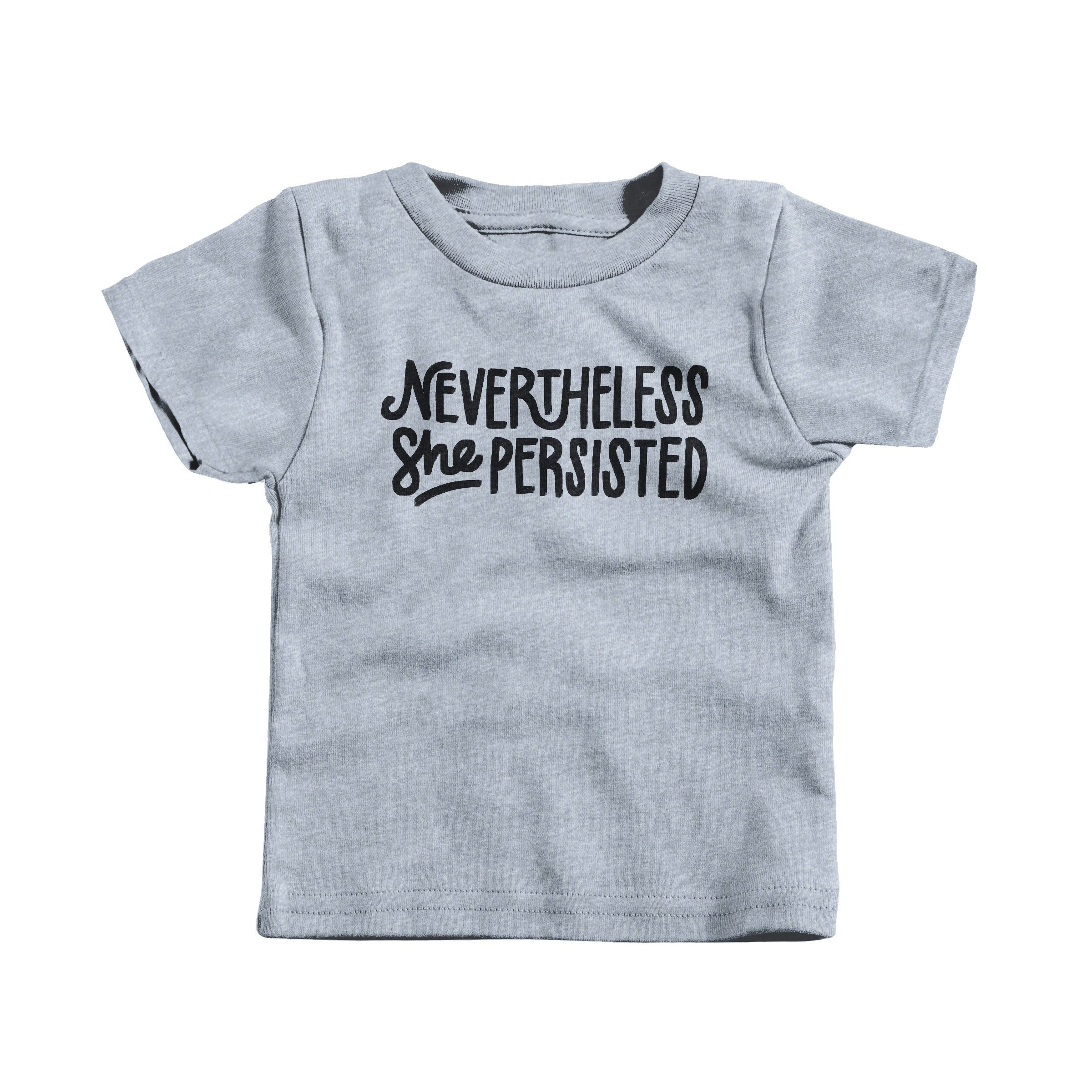 Nevertheless Heather Grey (T-Shirt)