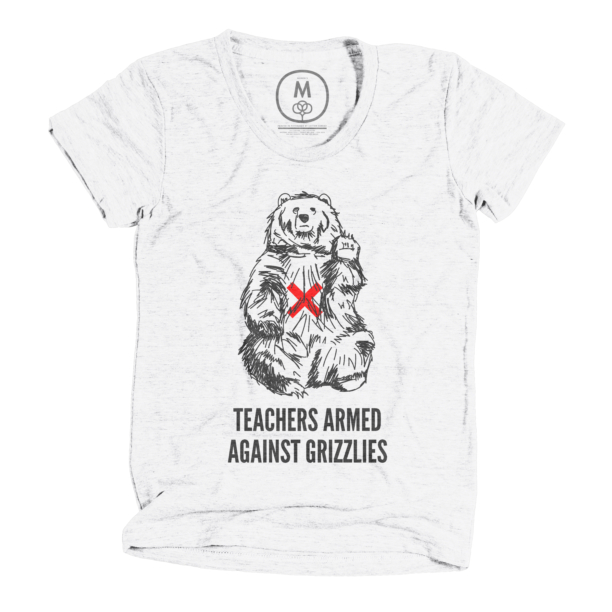 Teachers Armed Against Grizzlies Heather White (Women's)