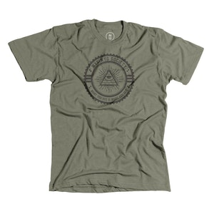 "The Not-So-Secret Society"" graphic tee by James Fruth"