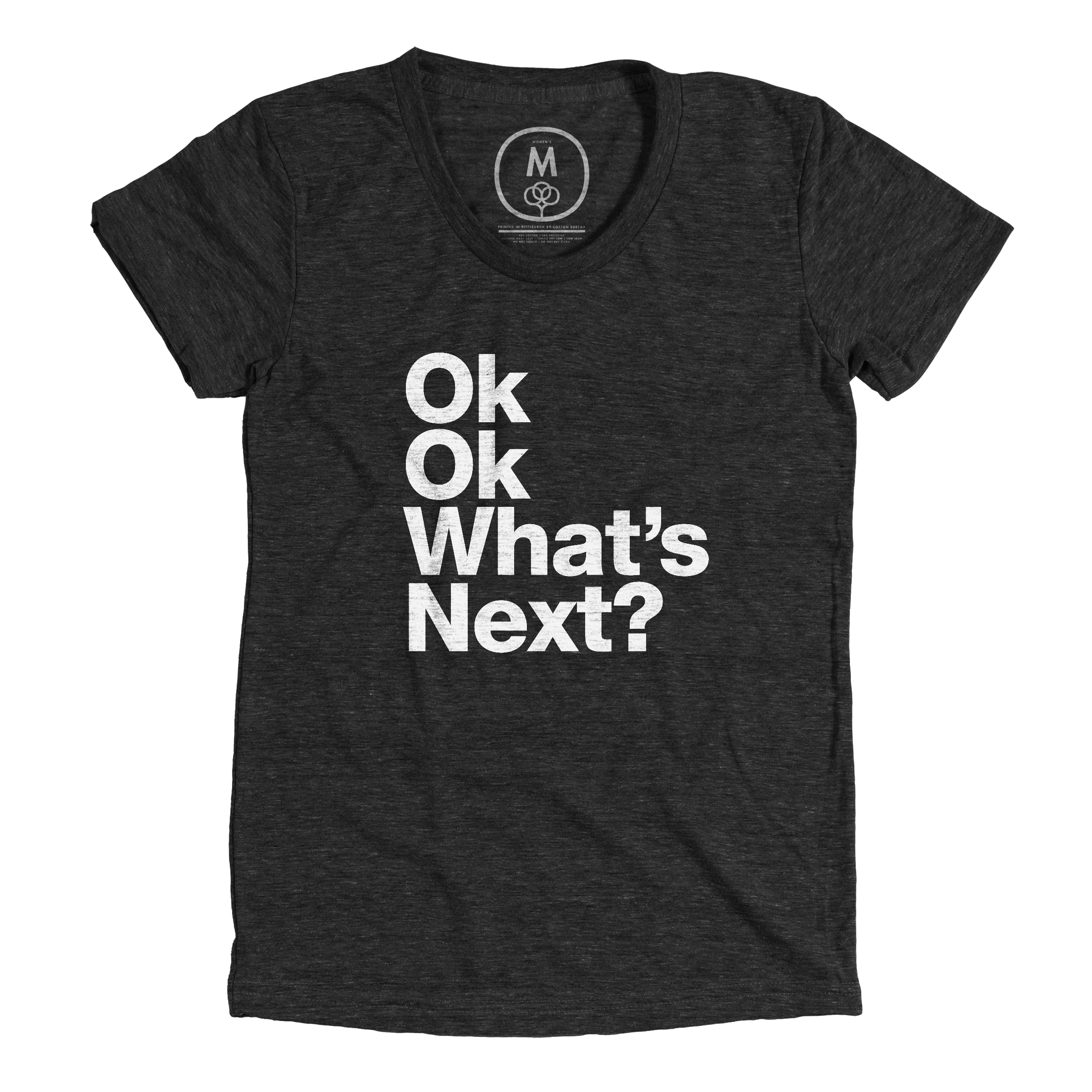 What's Next? (Black & White) Vintage Black (Women's)