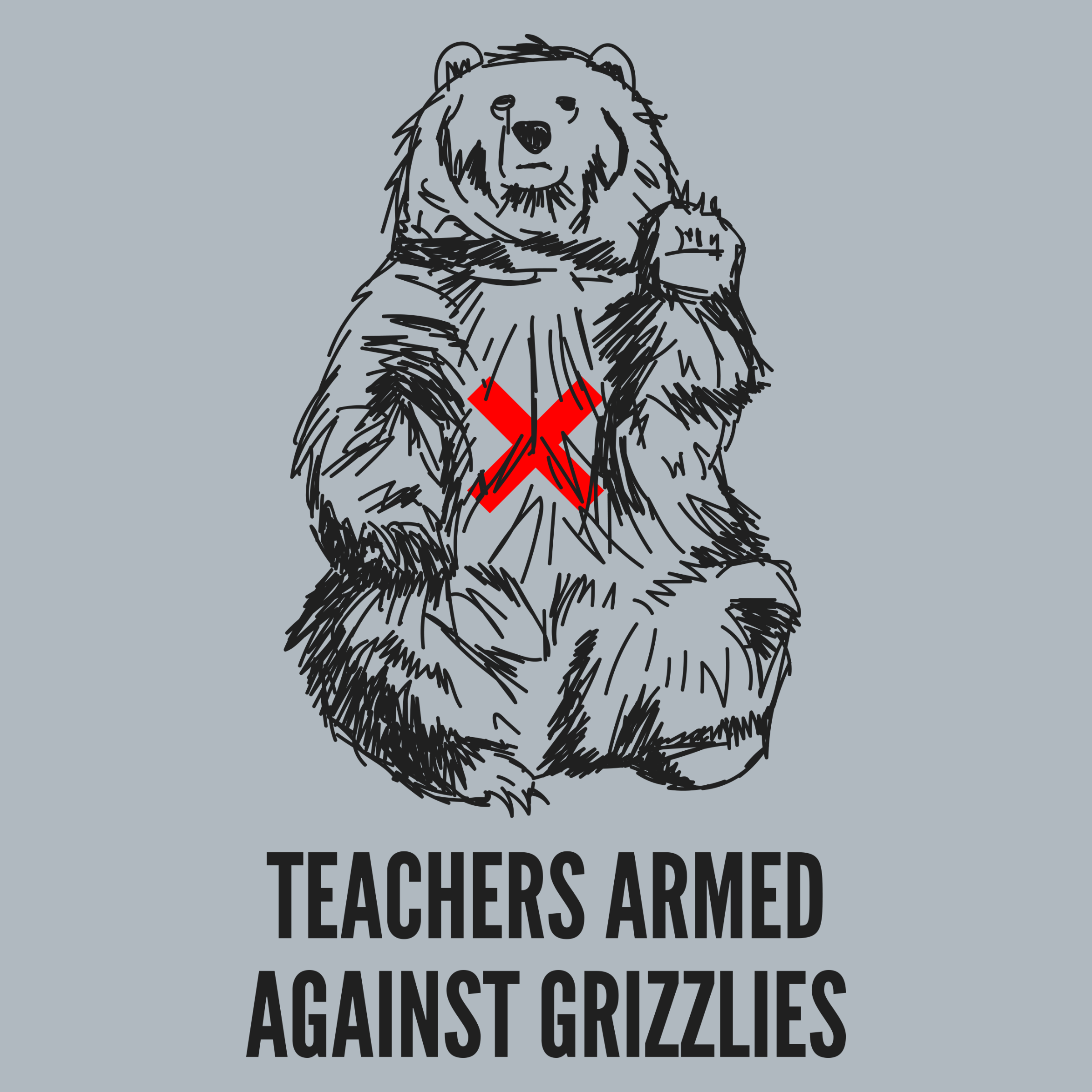 Teachers Armed Against Grizzlies Detail