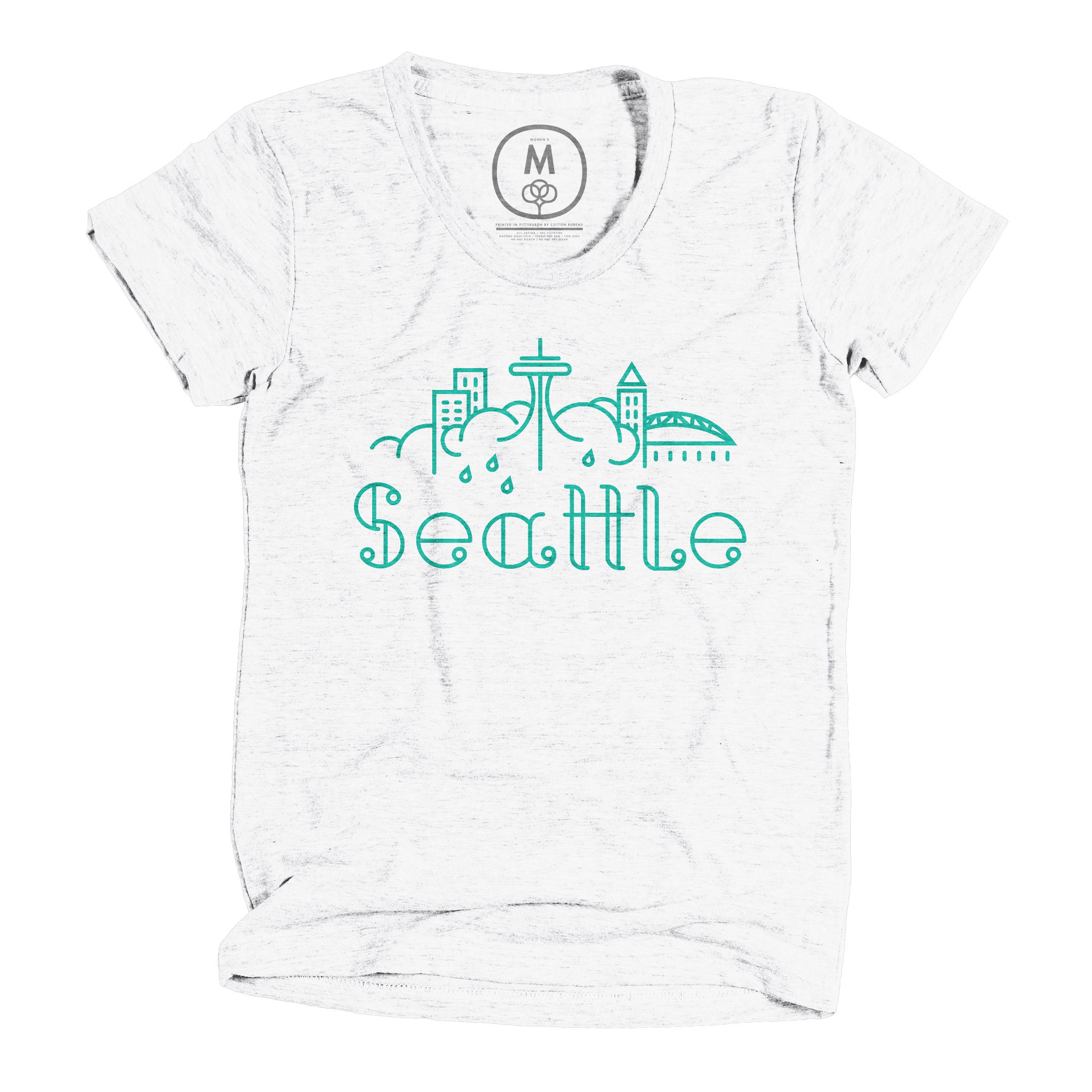 Emerald City Heather White (Women's)