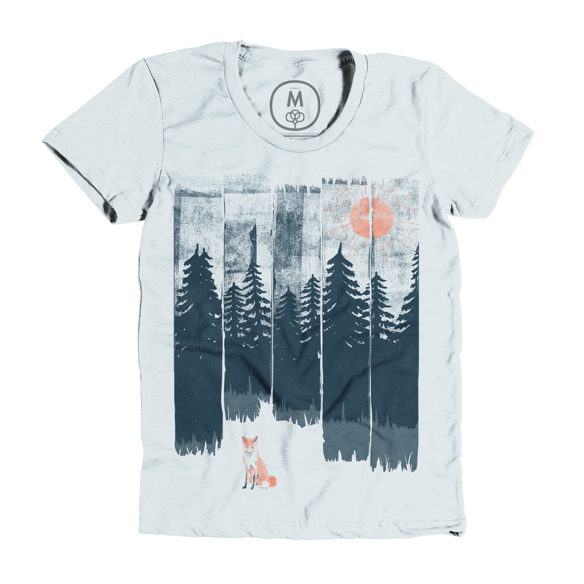 A Fox in the Wild... Ice Blue (Women's)