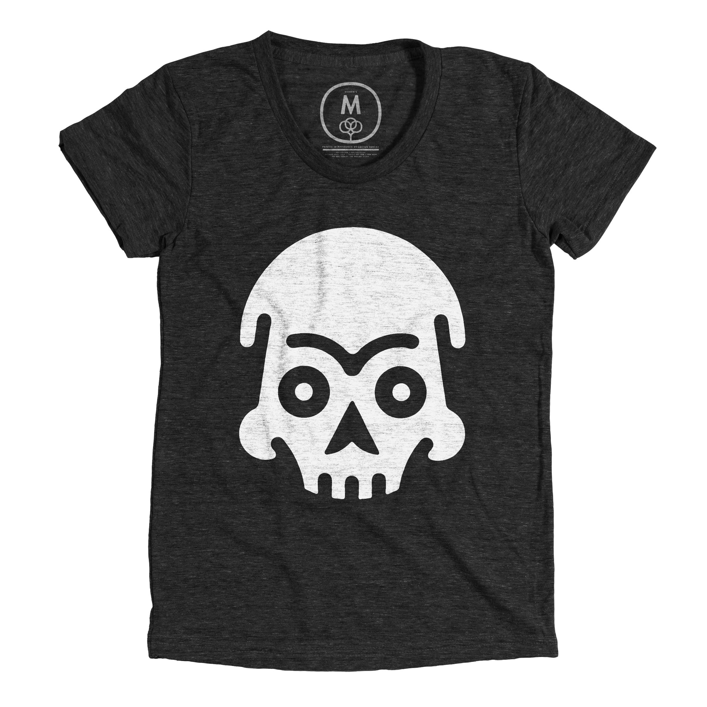 Skull  Vintage Black (Women's)
