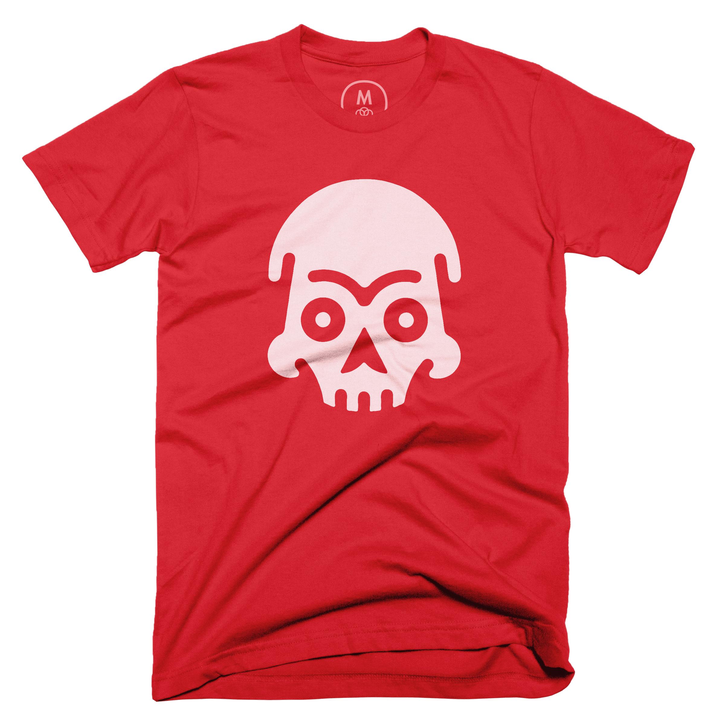 Skull  Red (Men's)