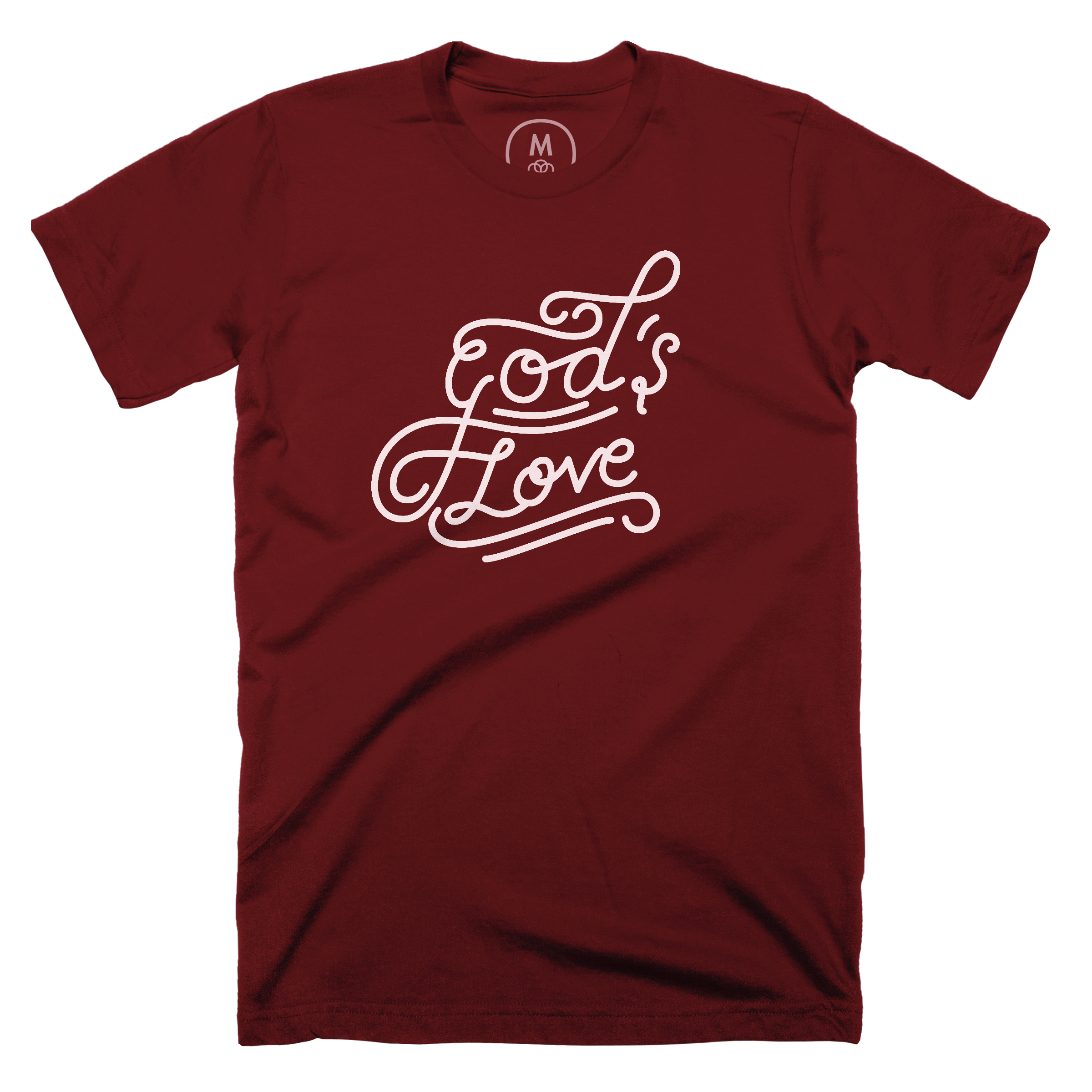 God's Love Maroon (Men's)