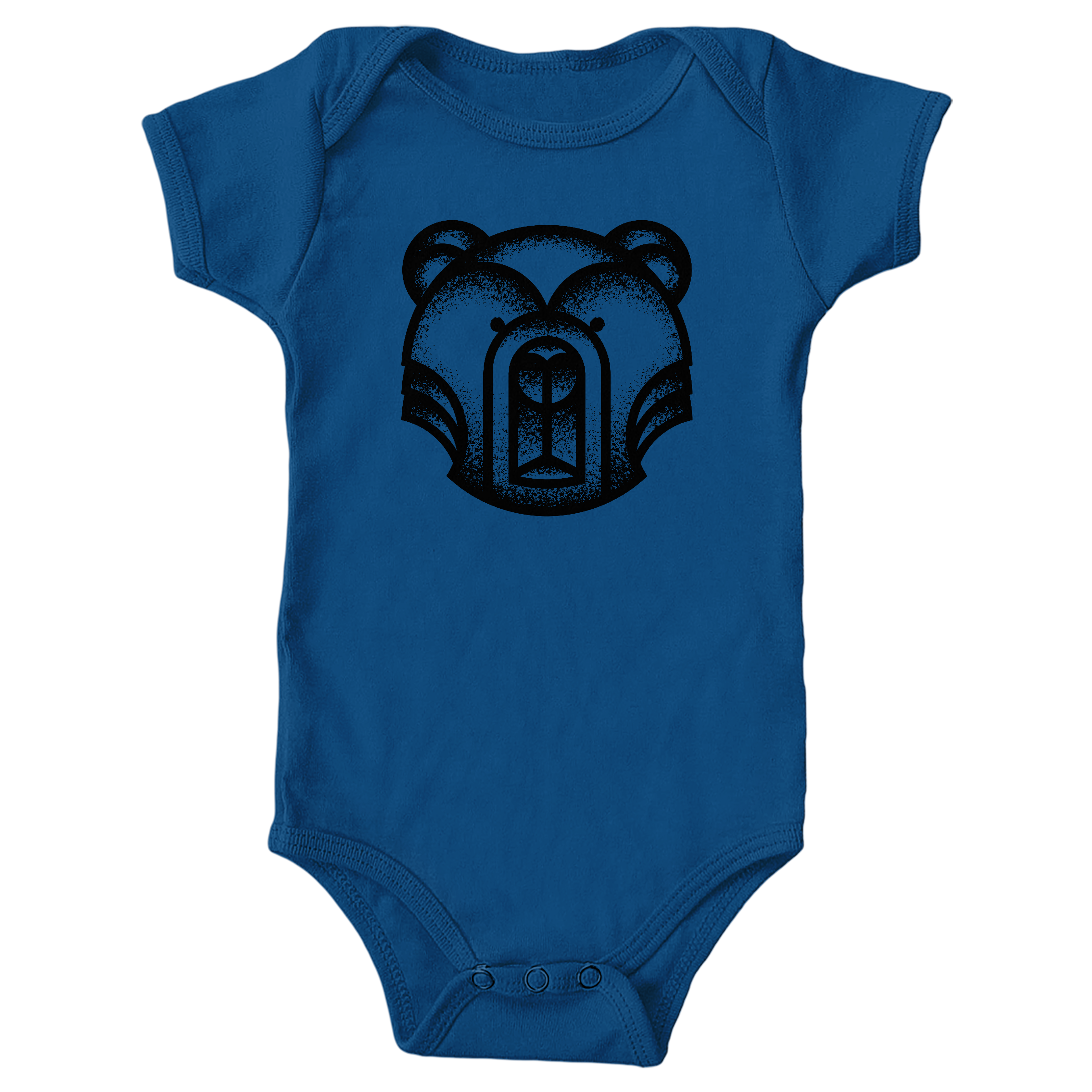 Geometric Bear Royal (Onesie)