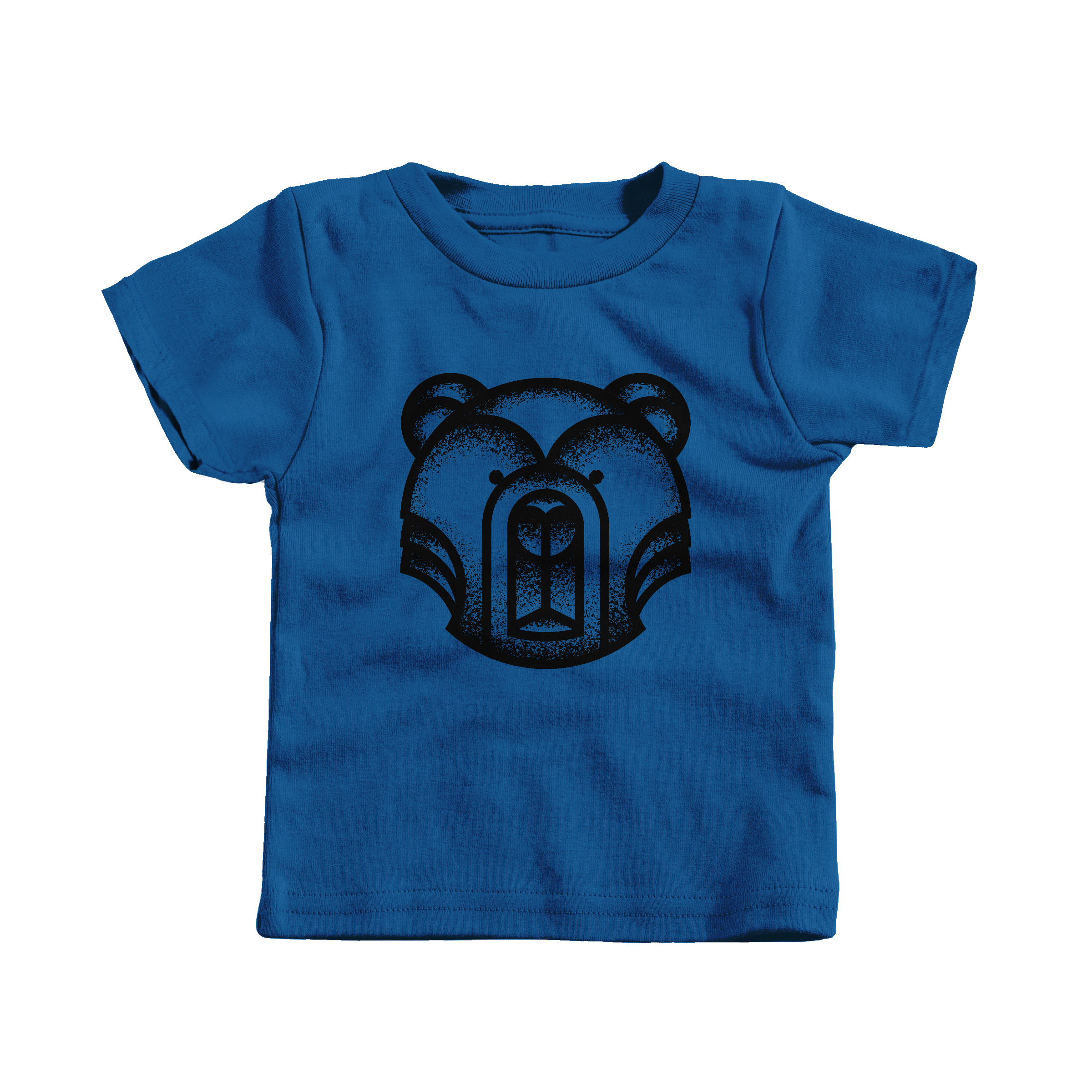 Geometric Bear Royal (T-Shirt)