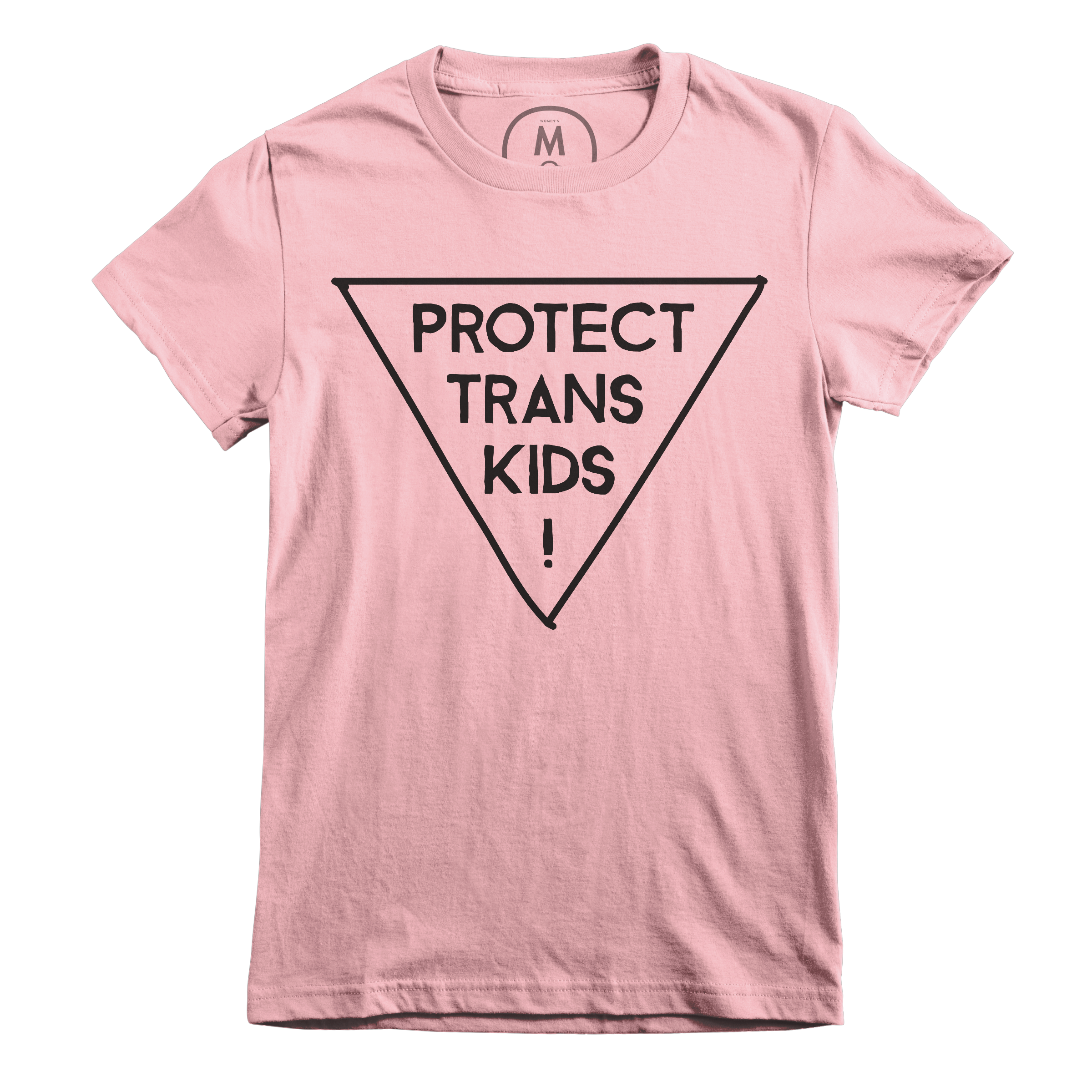 Protect Trans Kids! Light Pink (Women's)