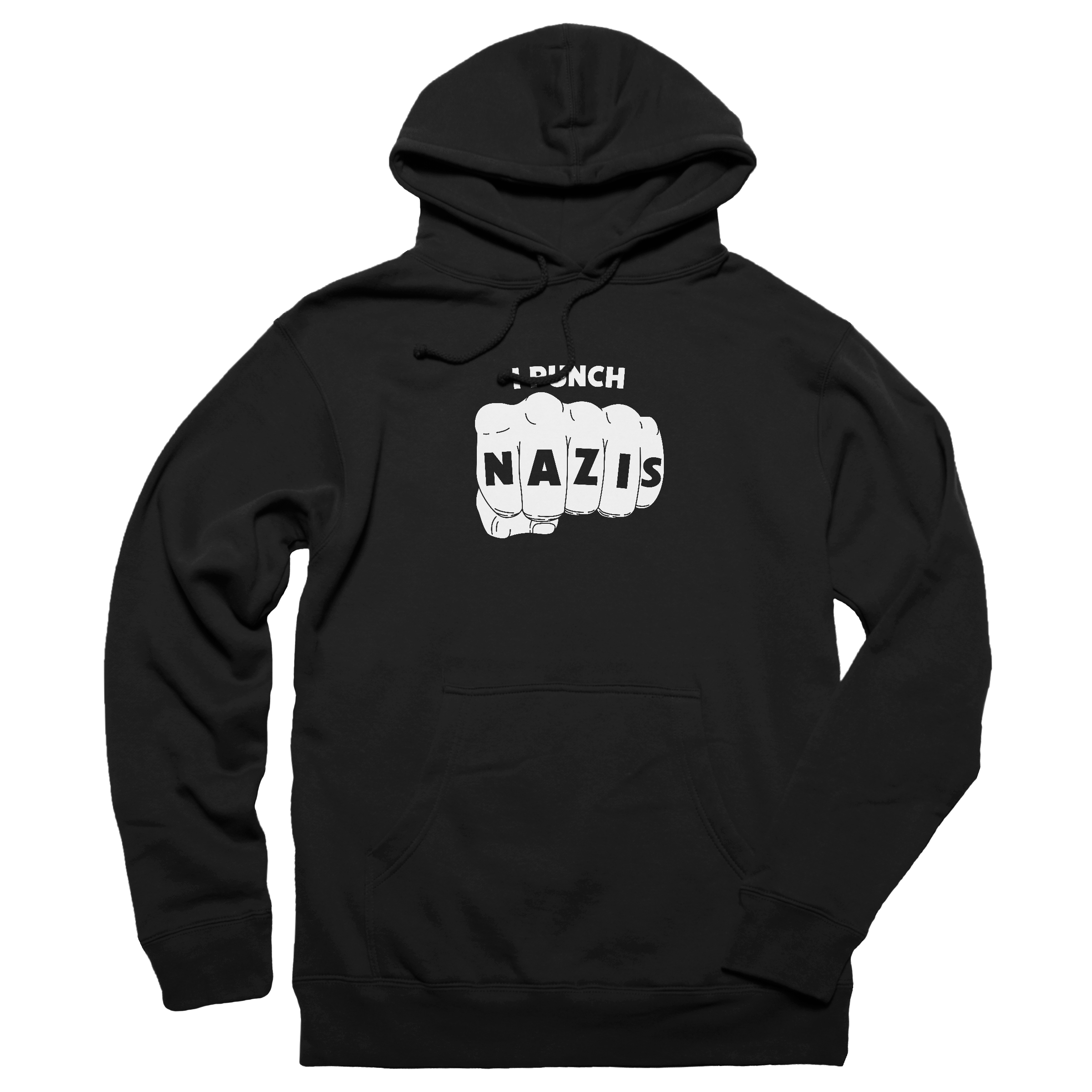 I PUNCH NAZIS Pullover Hoodie