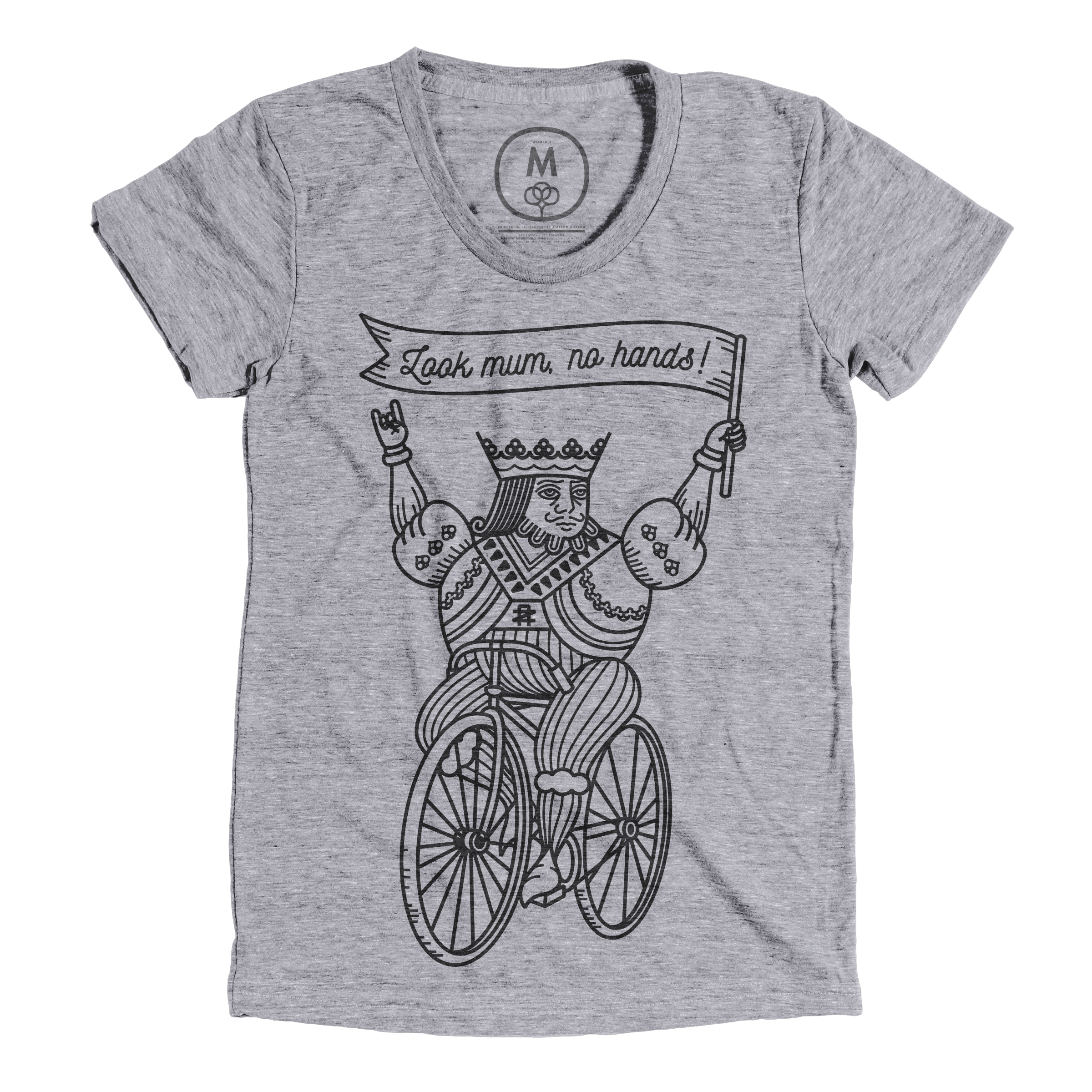 Look Mum, No Hands! Premium Heather (Women's)
